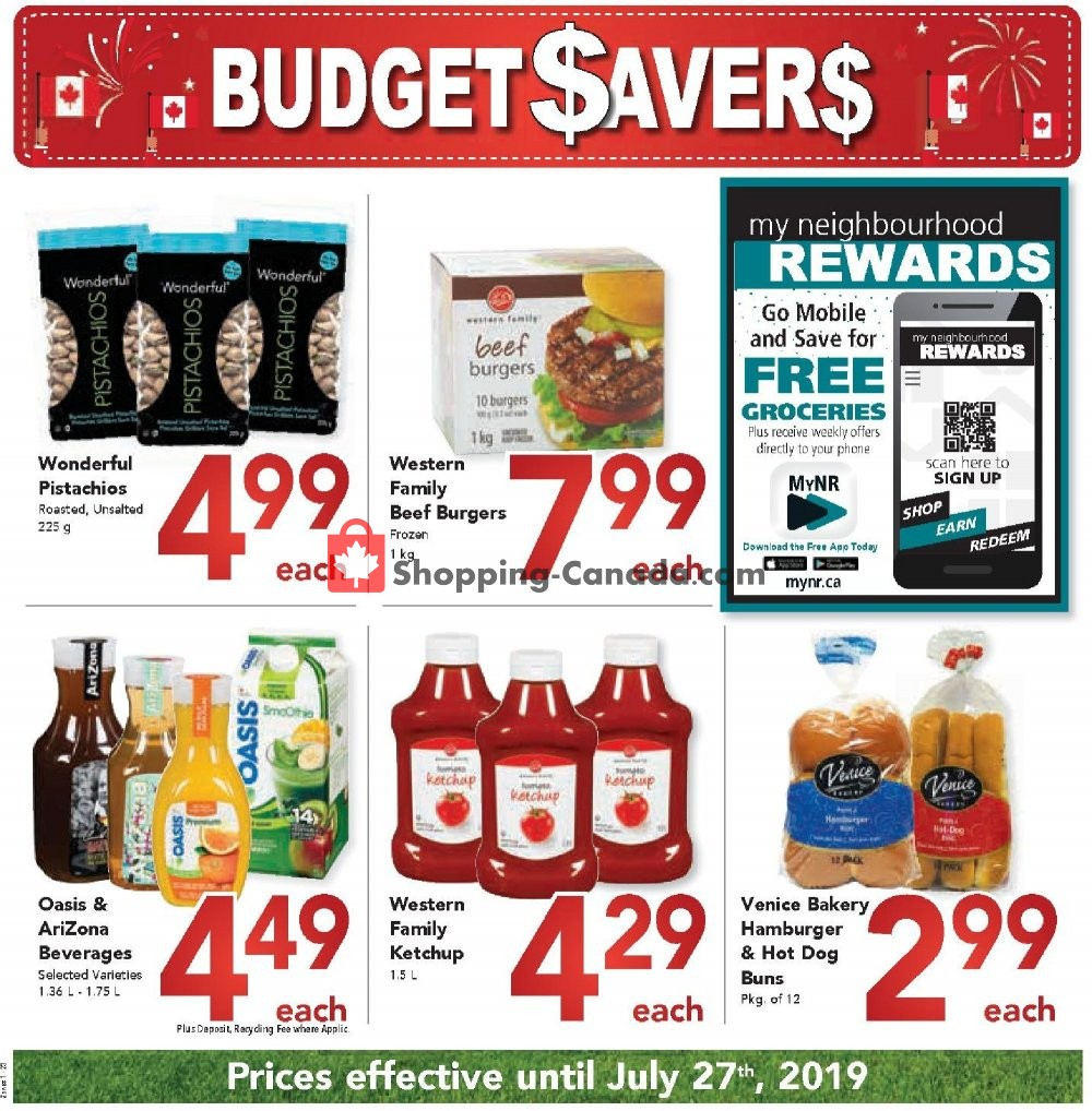 Flyer Queensdale Market Canada - from Sunday June 30, 2019 to Saturday July 27, 2019