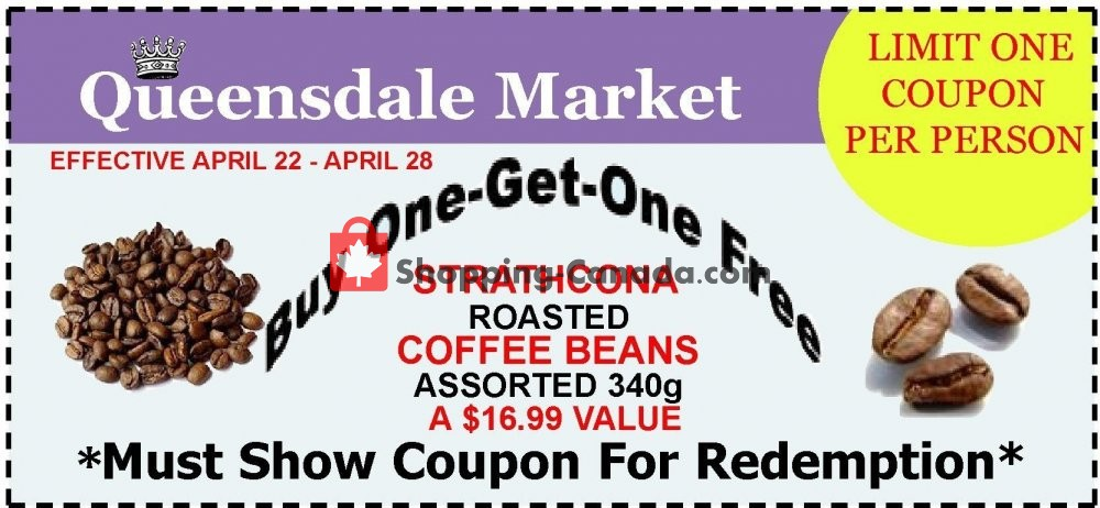 Flyer Queensdale Market Canada - from Monday April 22, 2019 to Sunday April 28, 2019