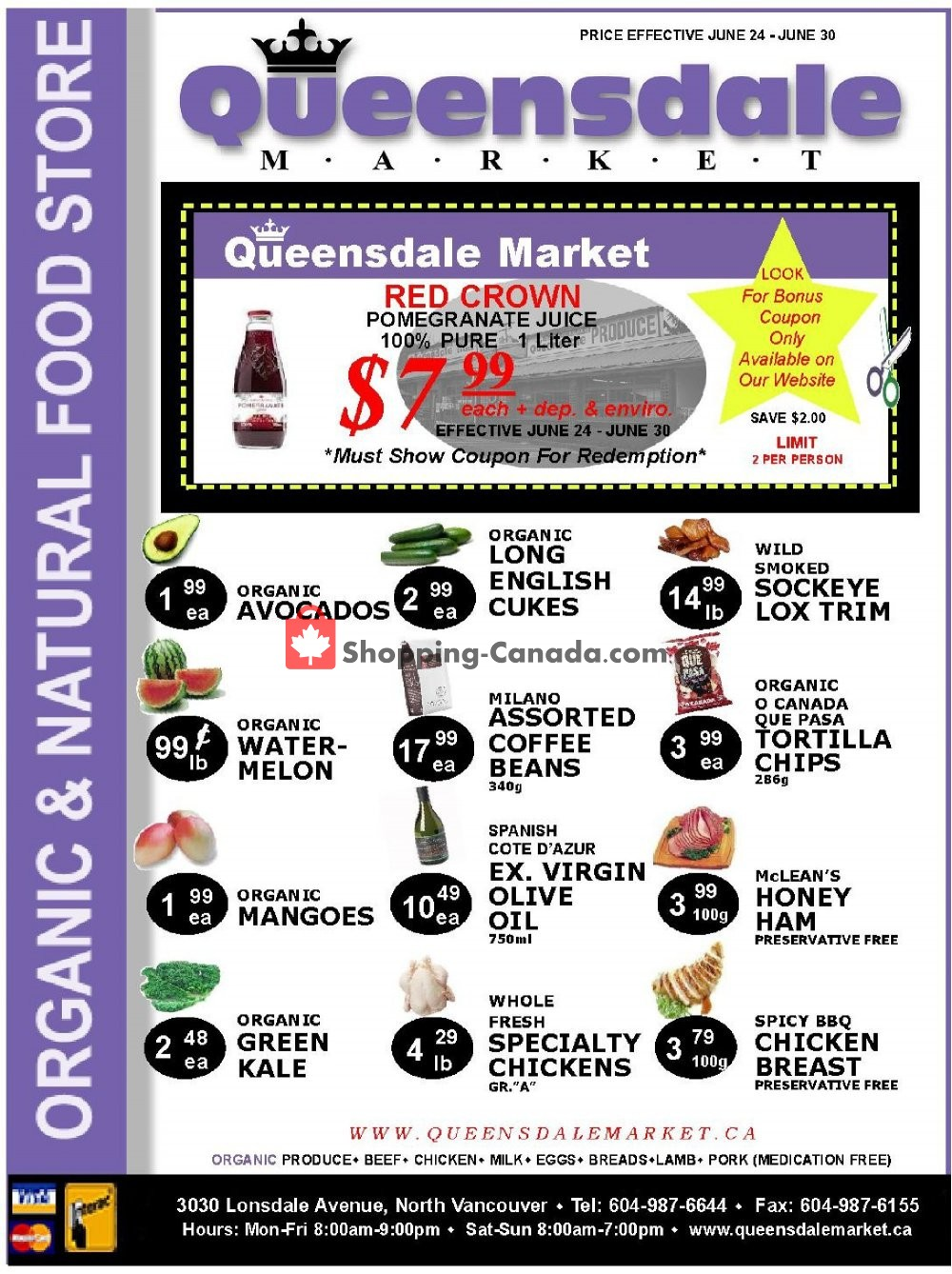 Flyer Queensdale Market Canada - from Monday June 24, 2019 to Sunday June 30, 2019