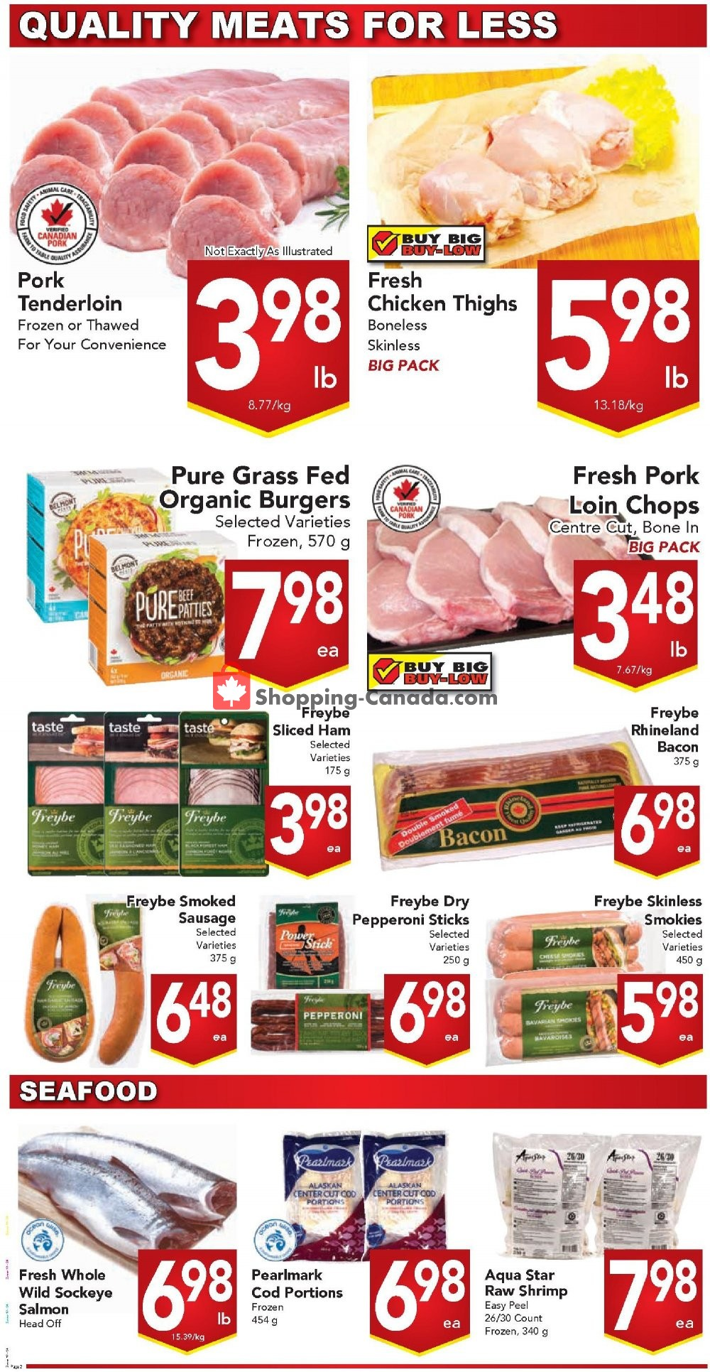 Flyer Queensdale Market Canada - from Monday August 12, 2019 to Sunday August 18, 2019