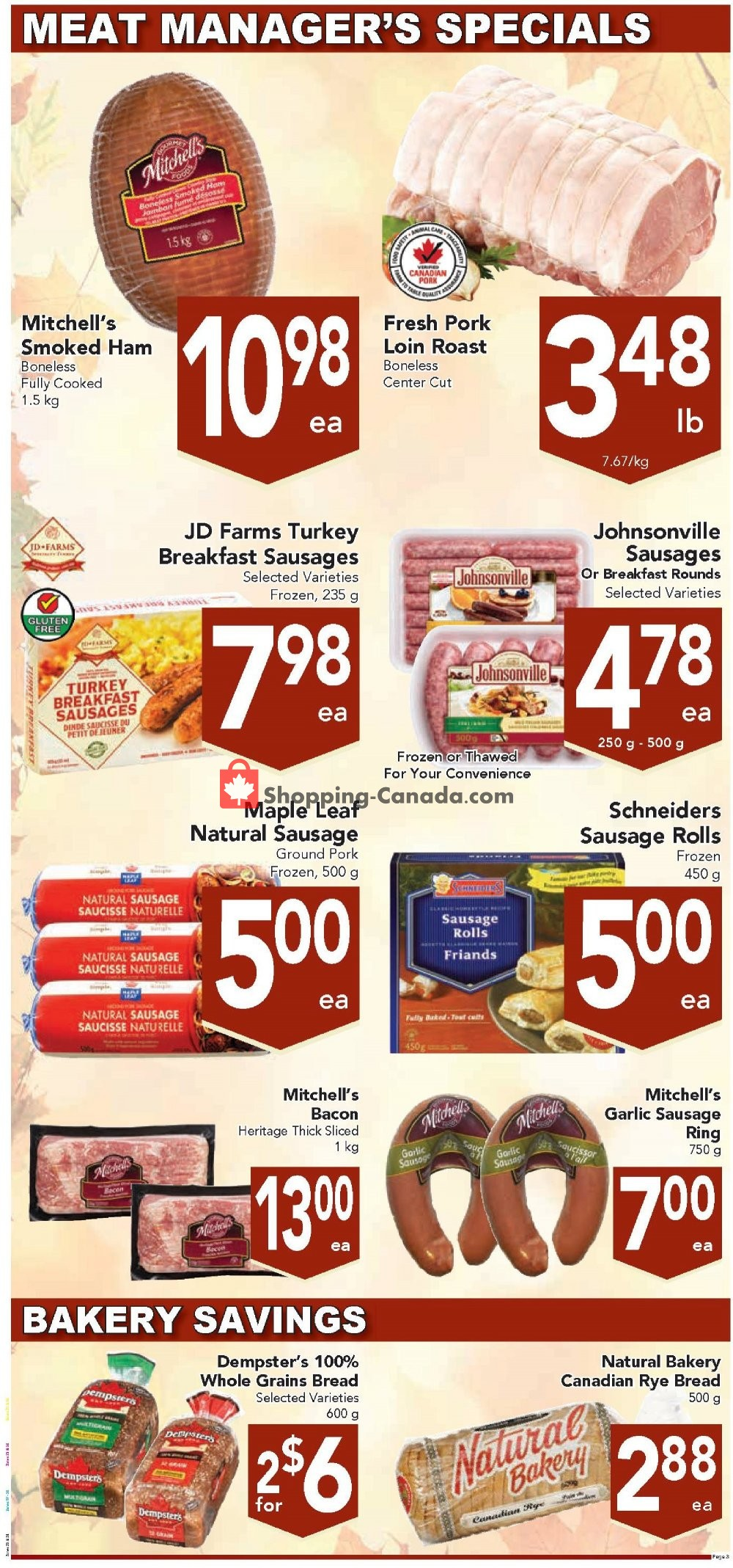Flyer Queensdale Market Canada - from Monday October 7, 2019 to Sunday October 13, 2019