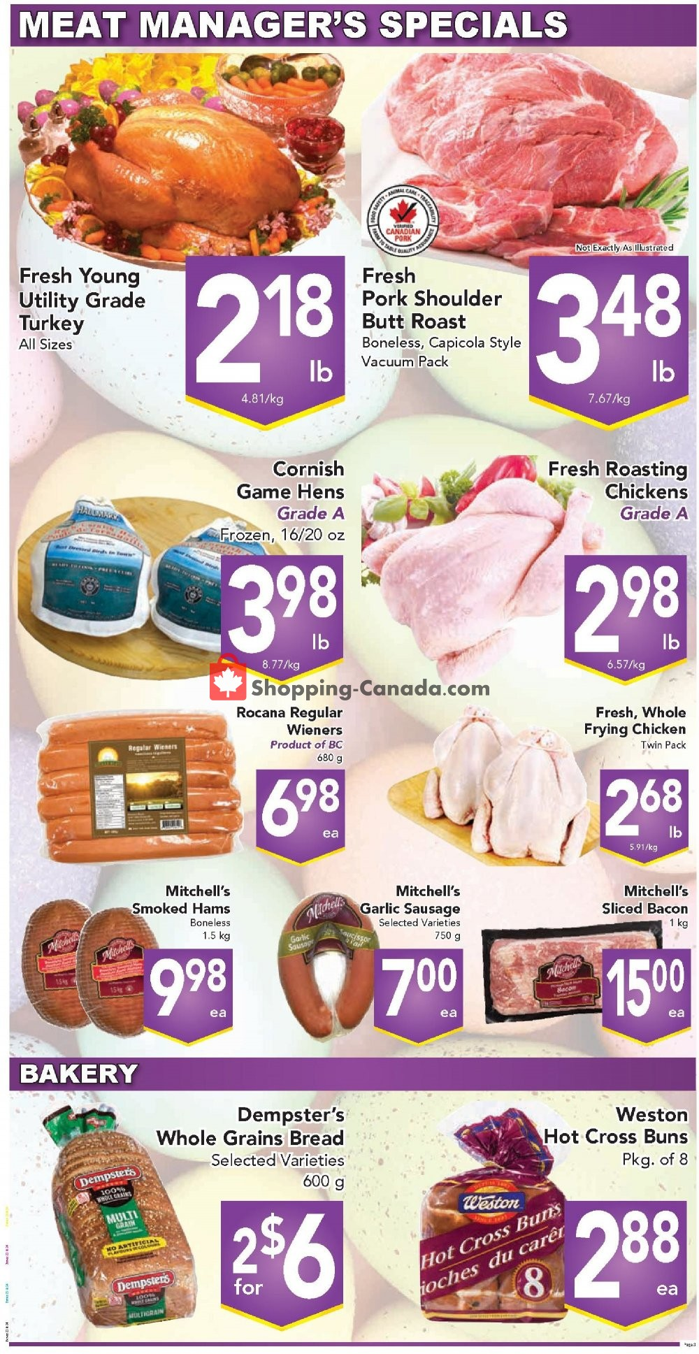 Flyer Queensdale Market Canada - from Monday April 15, 2019 to Sunday April 21, 2019