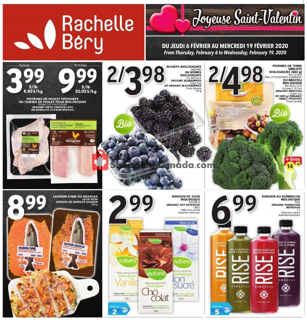 Flyer Rachelle Béry Canada - from Thursday February 6, 2020 to Wednesday February 19, 2020