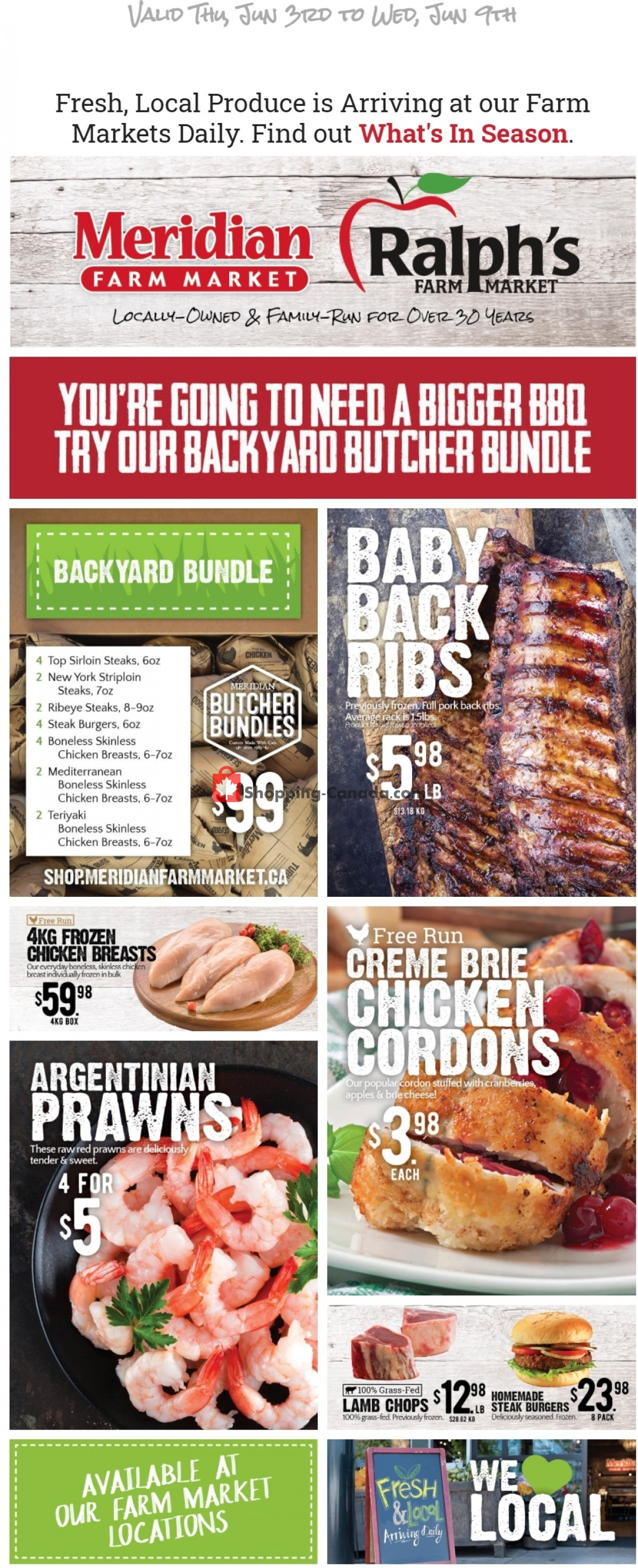 Flyer Ralph's Farm Market Canada - from Thursday June 3, 2021 to Wednesday June 9, 2021