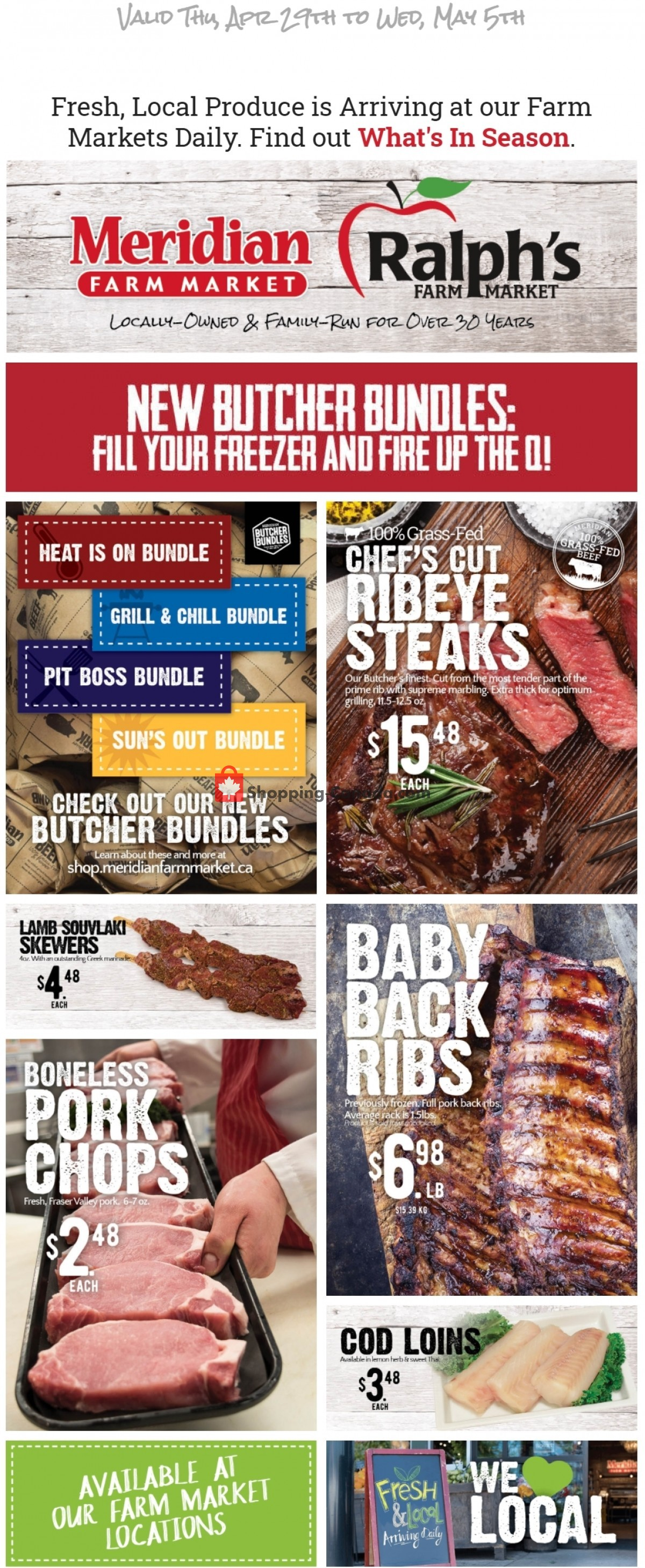 Flyer Ralph's Farm Market Canada - from Thursday April 29, 2021 to Wednesday May 5, 2021