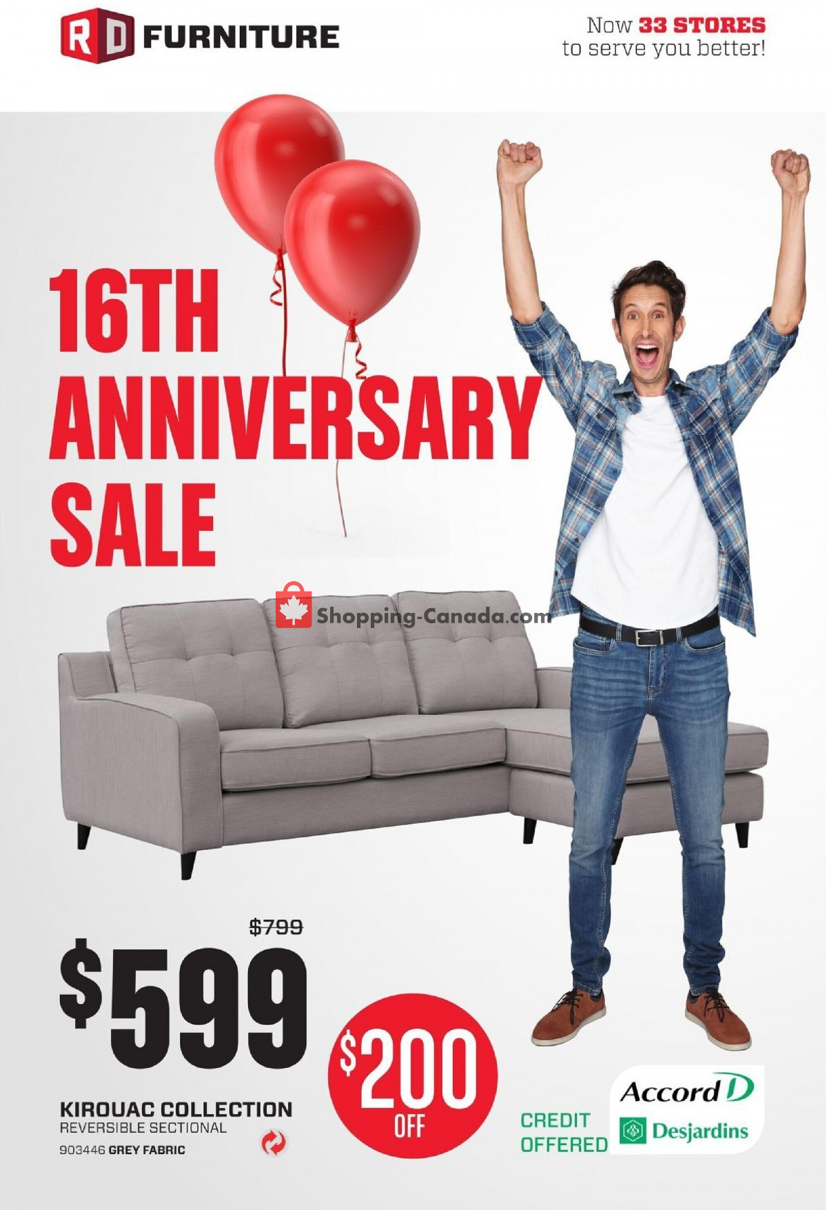 Flyer RD Furniture Canada - from Monday May 3, 2021 to Sunday May 9, 2021