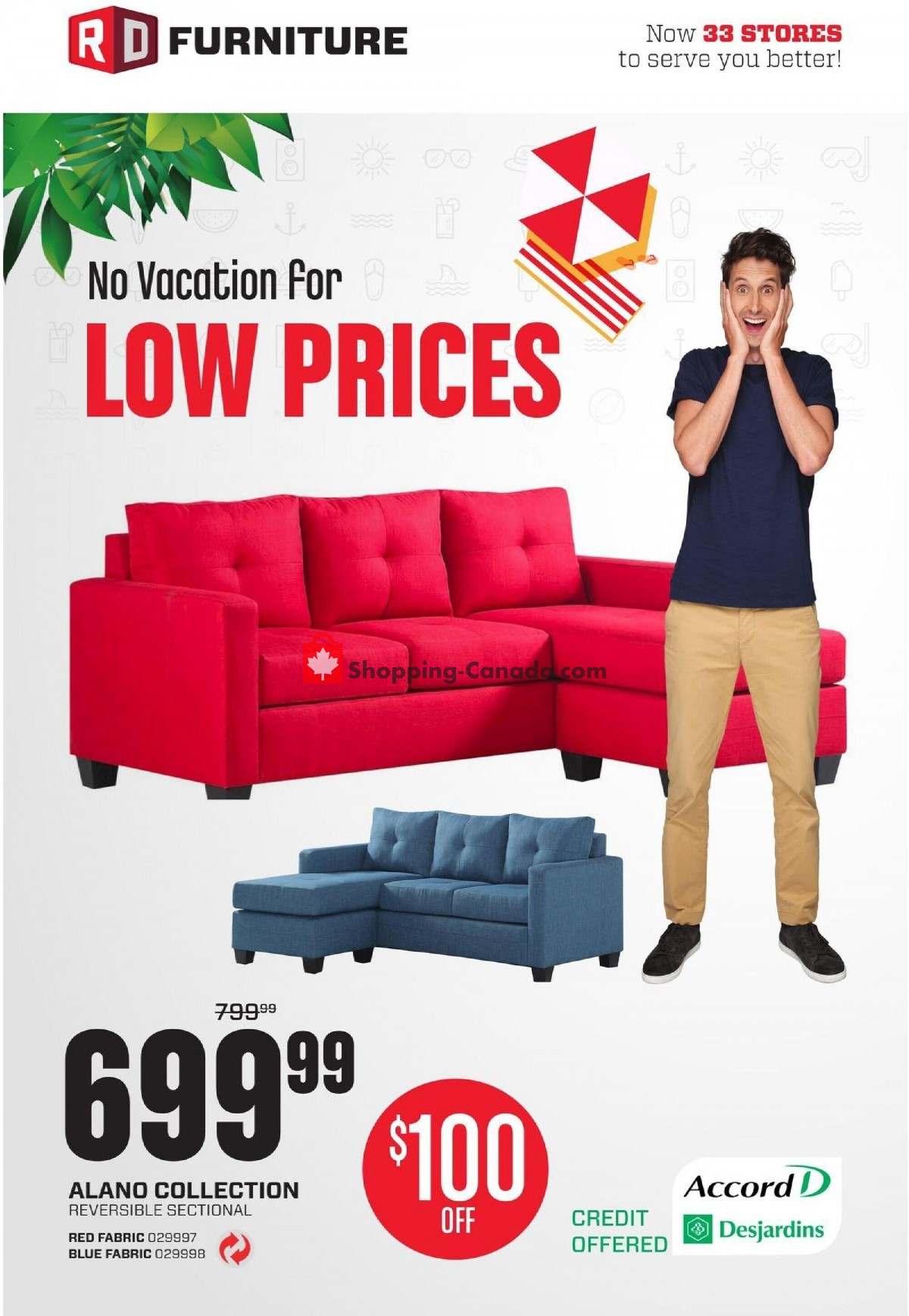 Flyer RD Furniture Canada - from Monday July 12, 2021 to Sunday July 18, 2021