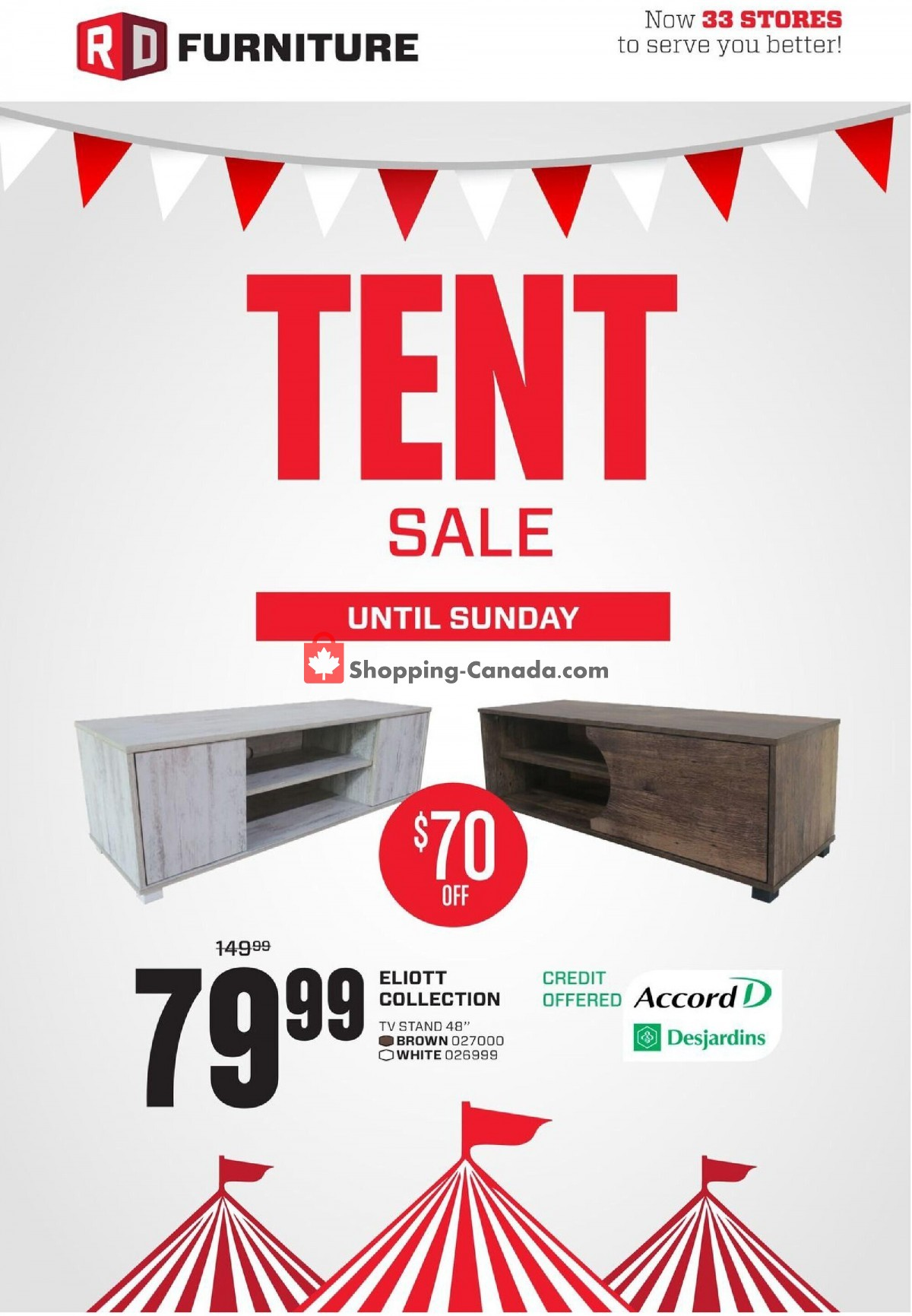 Flyer RD Furniture Canada - from Tuesday September 7, 2021 to Monday September 13, 2021