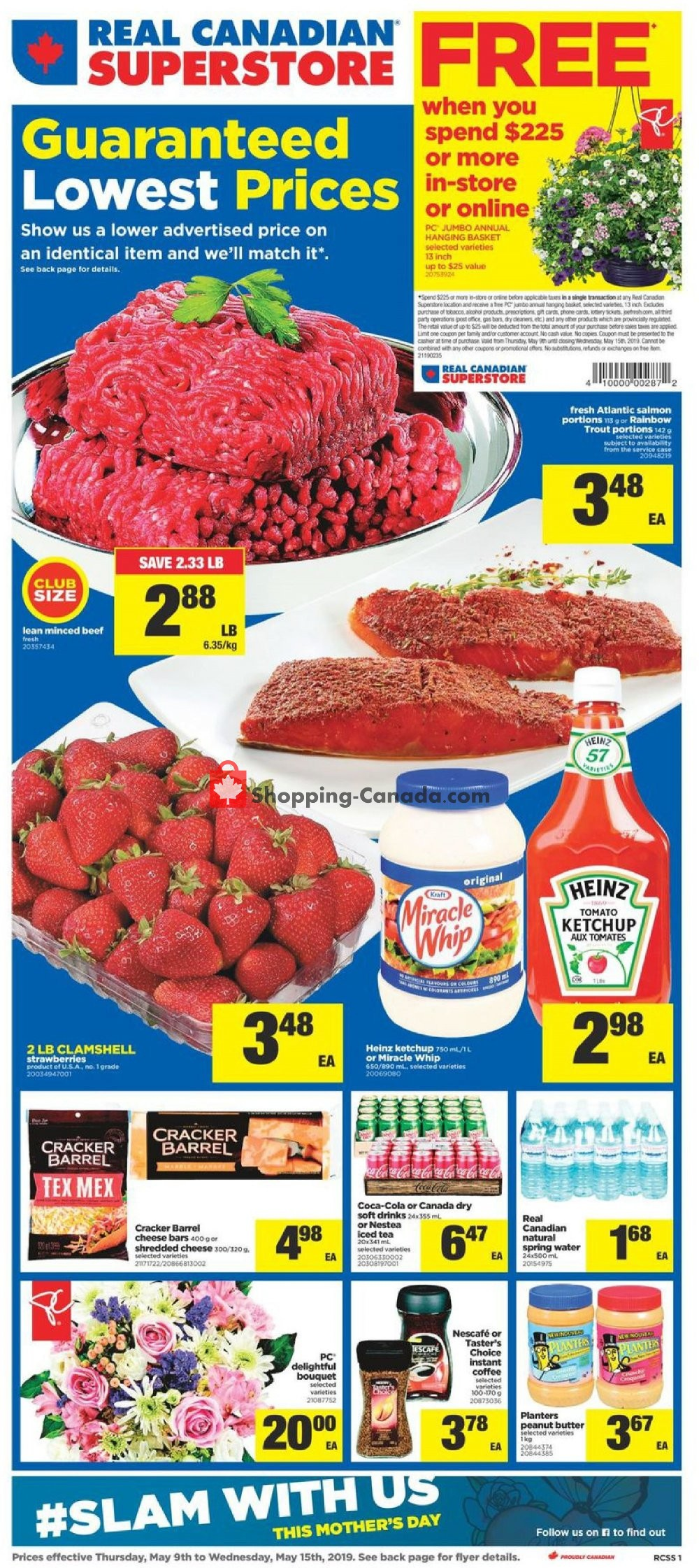 Flyer Real Canadian Superstore Canada - from Thursday May 9, 2019 to Wednesday May 15, 2019