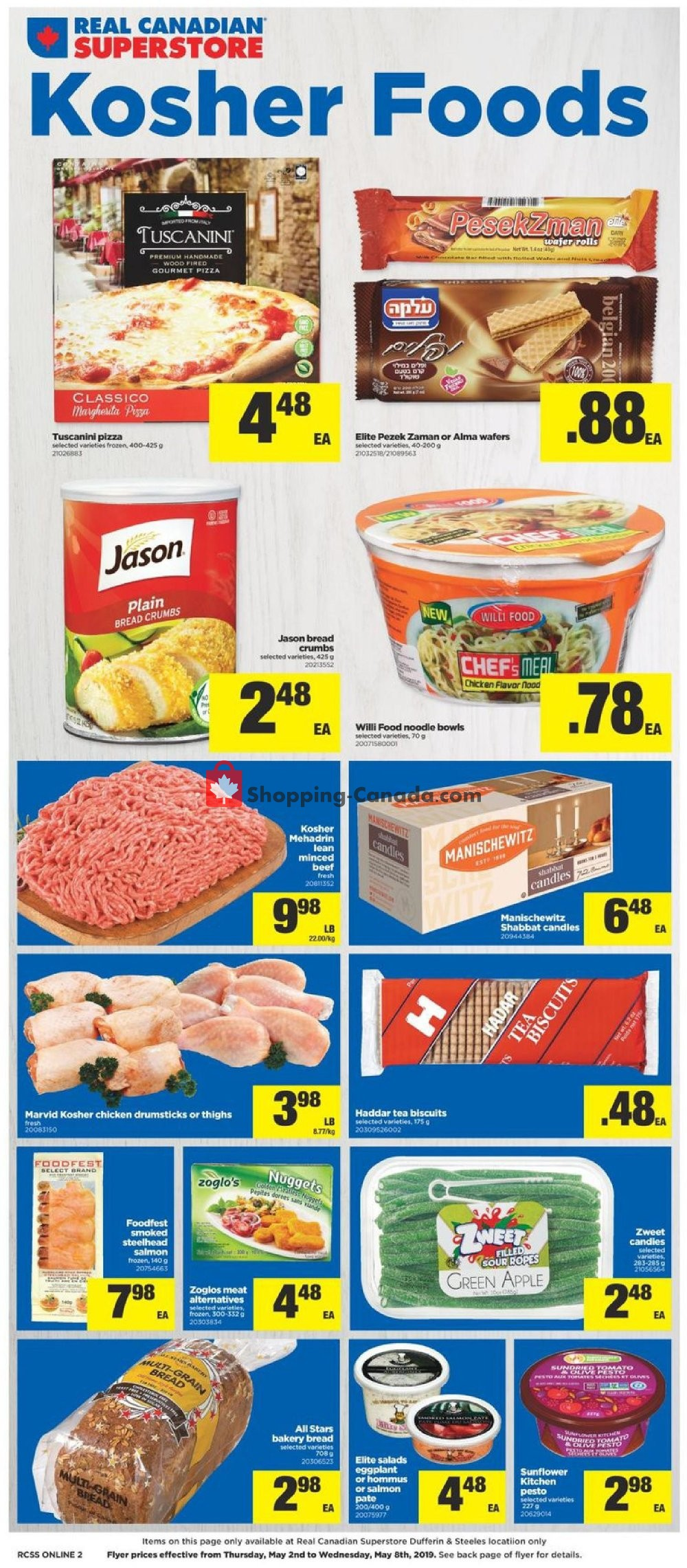 Flyer Real Canadian Superstore Canada - from Thursday May 2, 2019 to Wednesday May 8, 2019