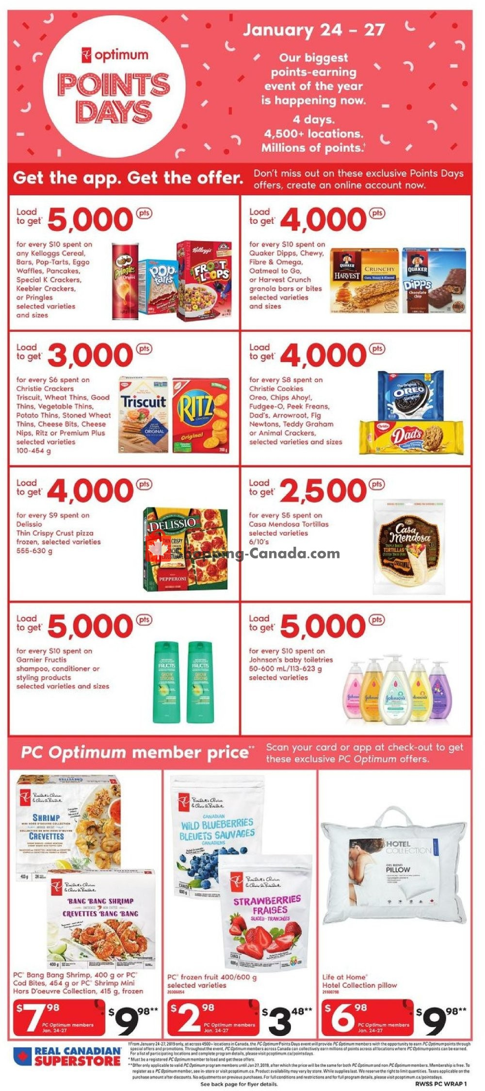 Flyer Real Canadian Superstore Canada - from Friday January 25, 2019 to Thursday January 31, 2019
