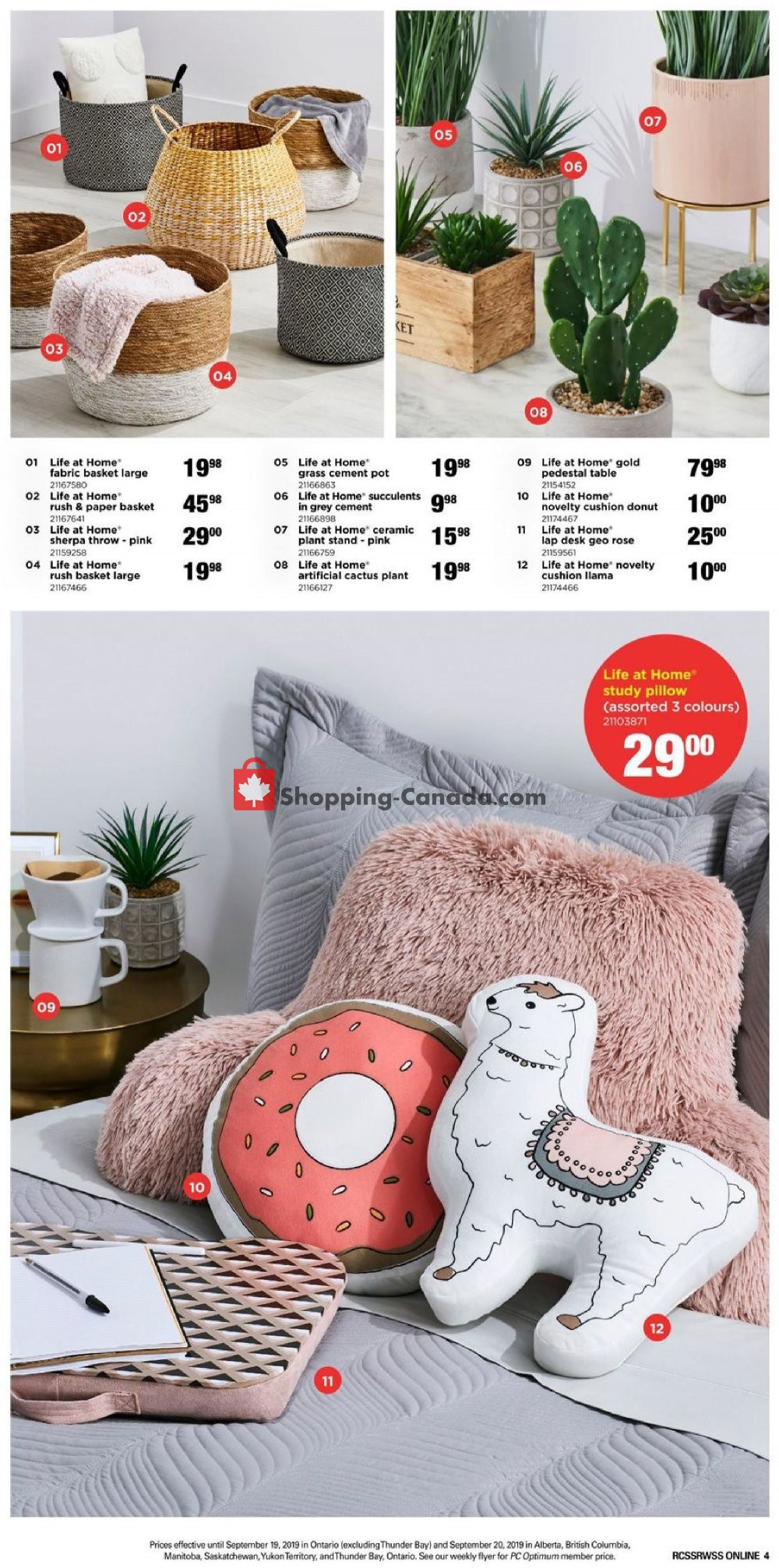 Flyer Real Canadian Superstore Canada - from Friday August 30, 2019 to Friday September 20, 2019