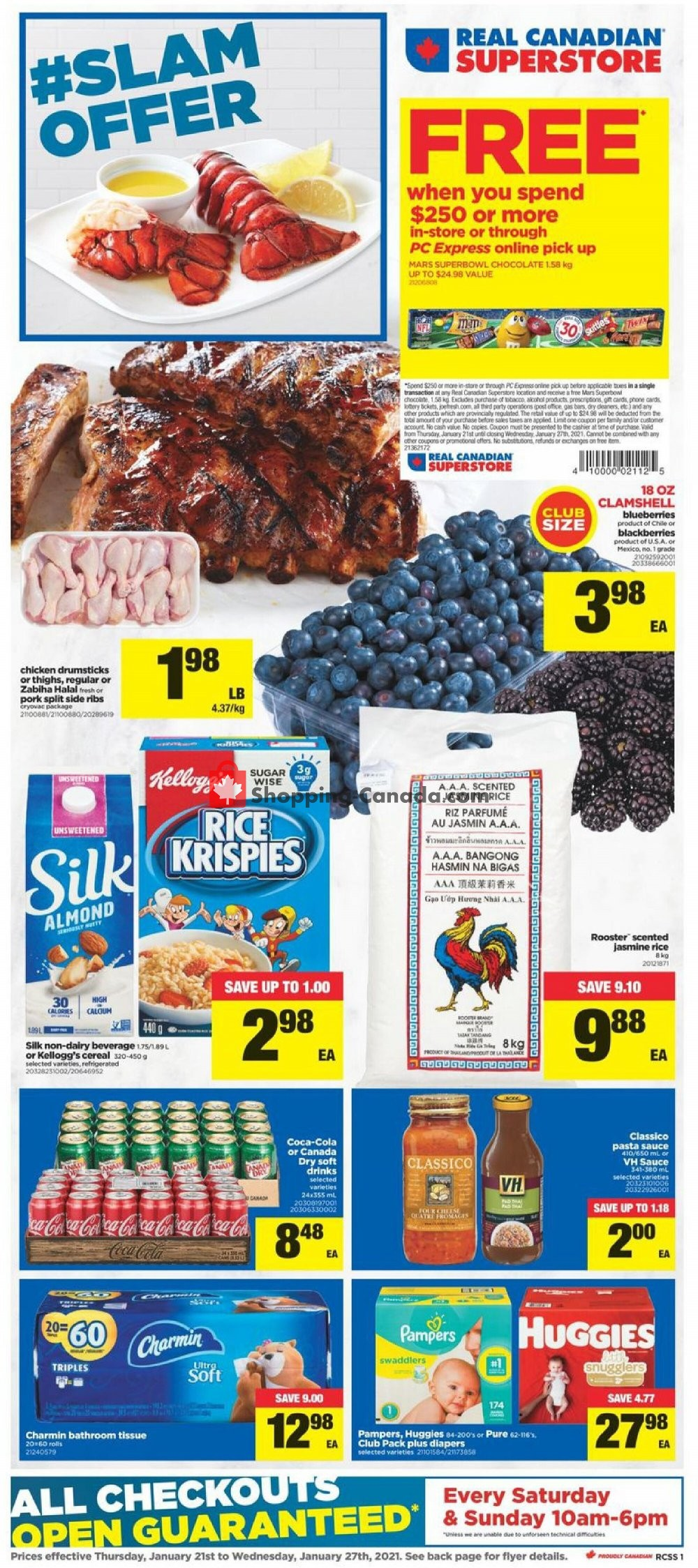 Flyer Real Canadian Superstore Canada - from Thursday January 21, 2021 to Wednesday January 27, 2021