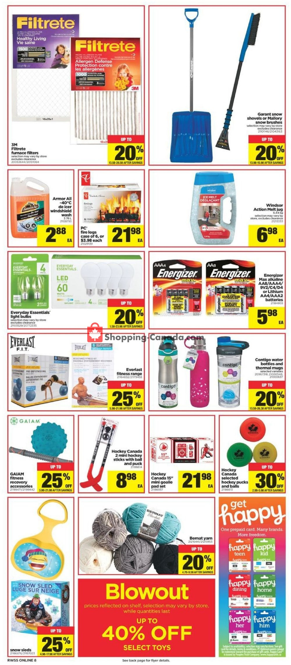 Flyer Real Canadian Superstore Canada - from Friday January 10, 2020 to Thursday January 16, 2020