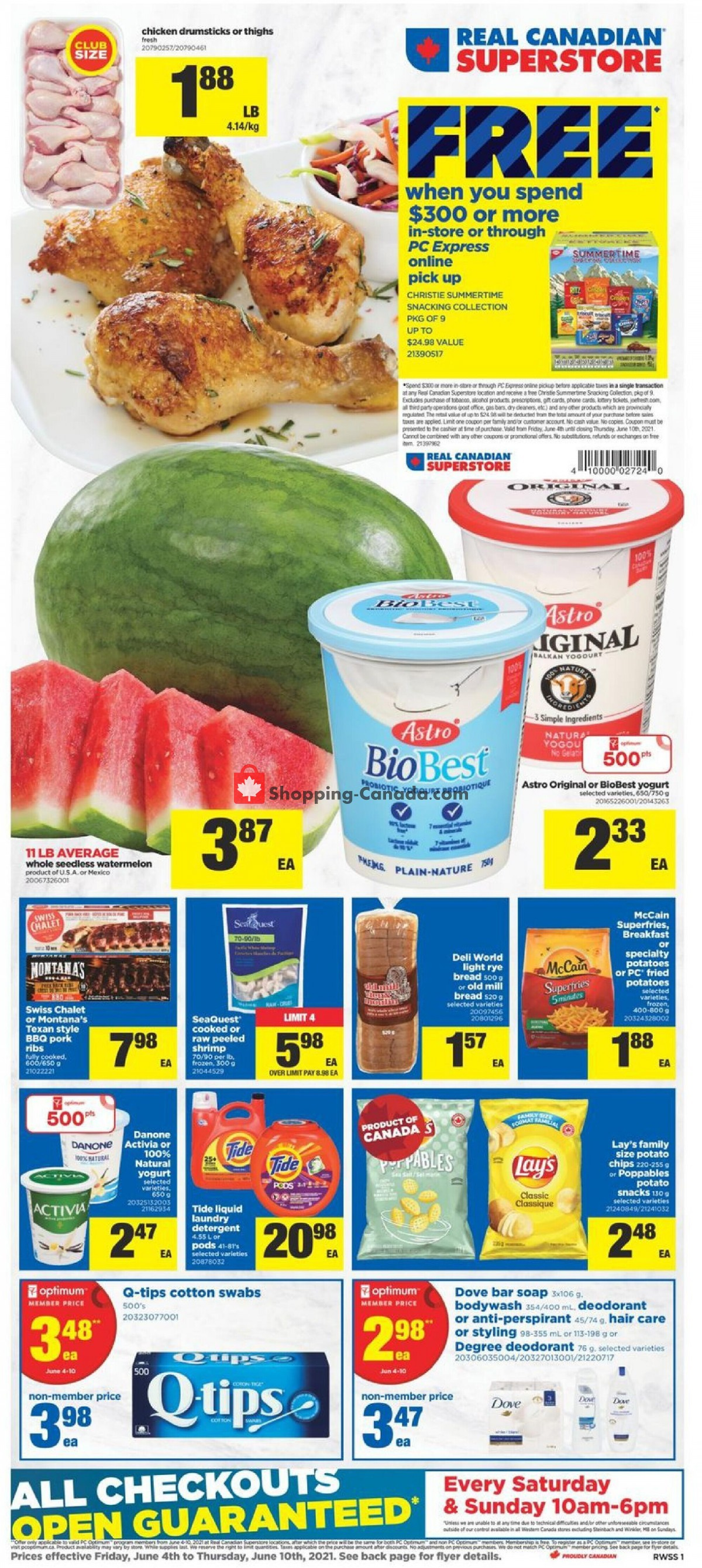 Flyer Real Canadian Superstore Canada - from Friday June 4, 2021 to Thursday June 10, 2021