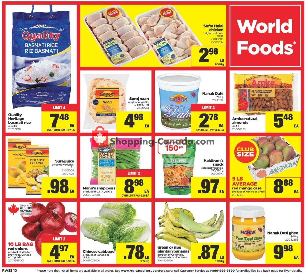 Flyer Real Canadian Superstore Canada - from Friday September 6, 2019 to Thursday September 12, 2019