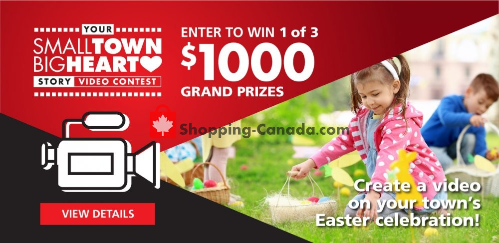 Flyer Red Apple Stores Canada - from Monday April 22, 2019 to Sunday April 28, 2019