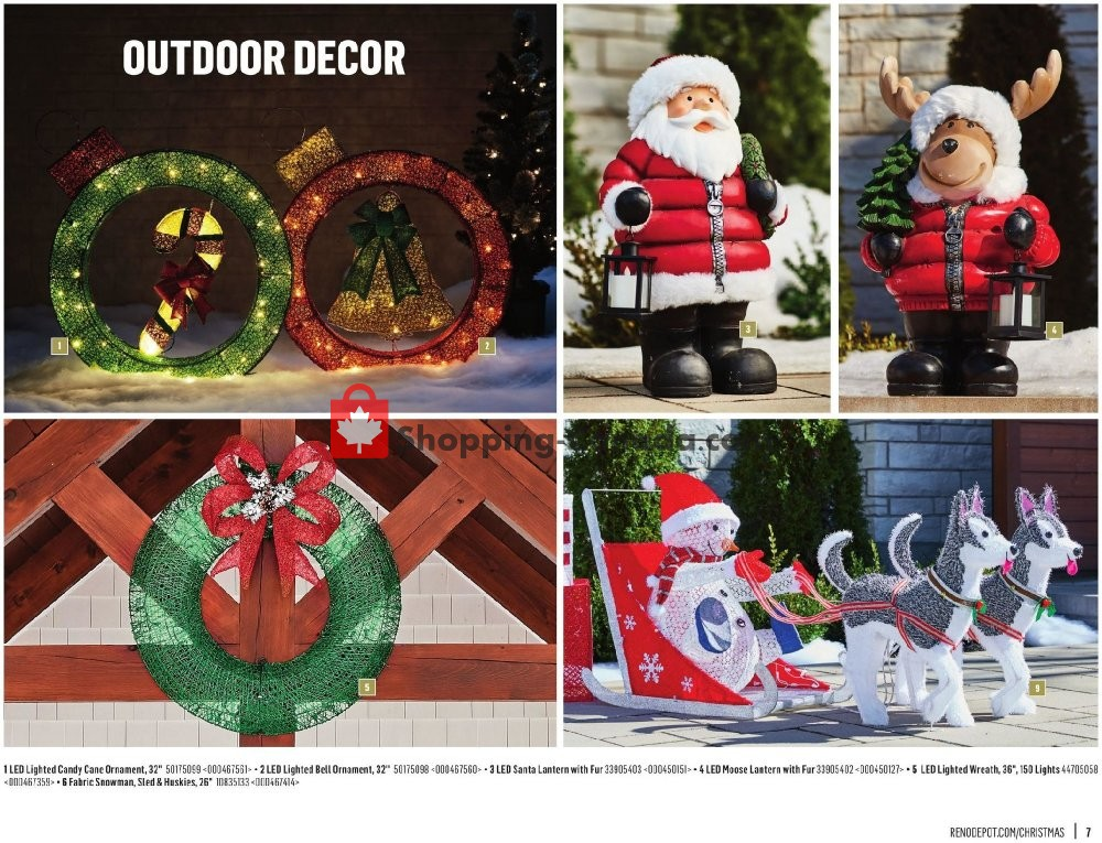 Flyer Réno Dépôt Canada - from Saturday November 2, 2019 to Wednesday December 25, 2019