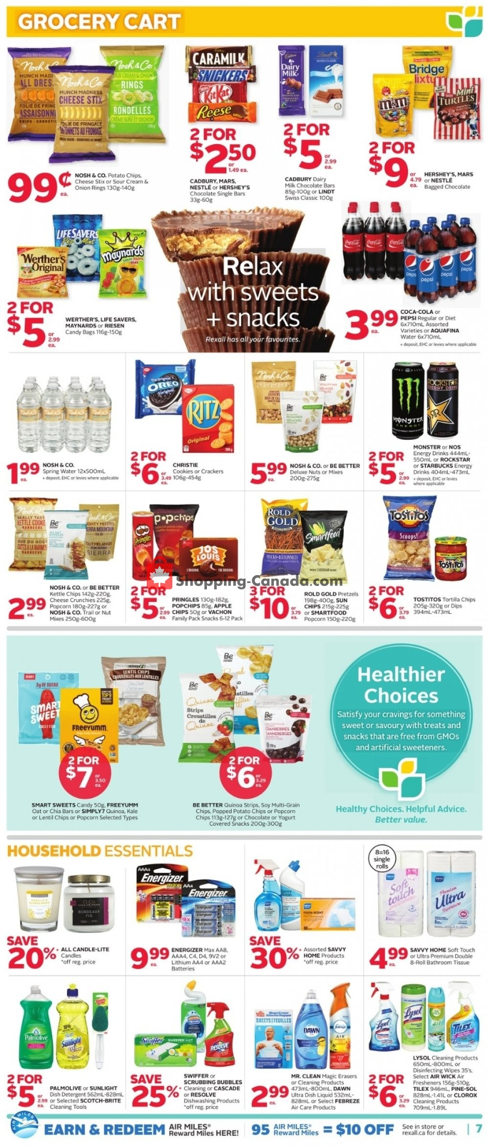 Flyer Rexall Drug Store Canada - from Friday October 11, 2019 to Thursday October 17, 2019