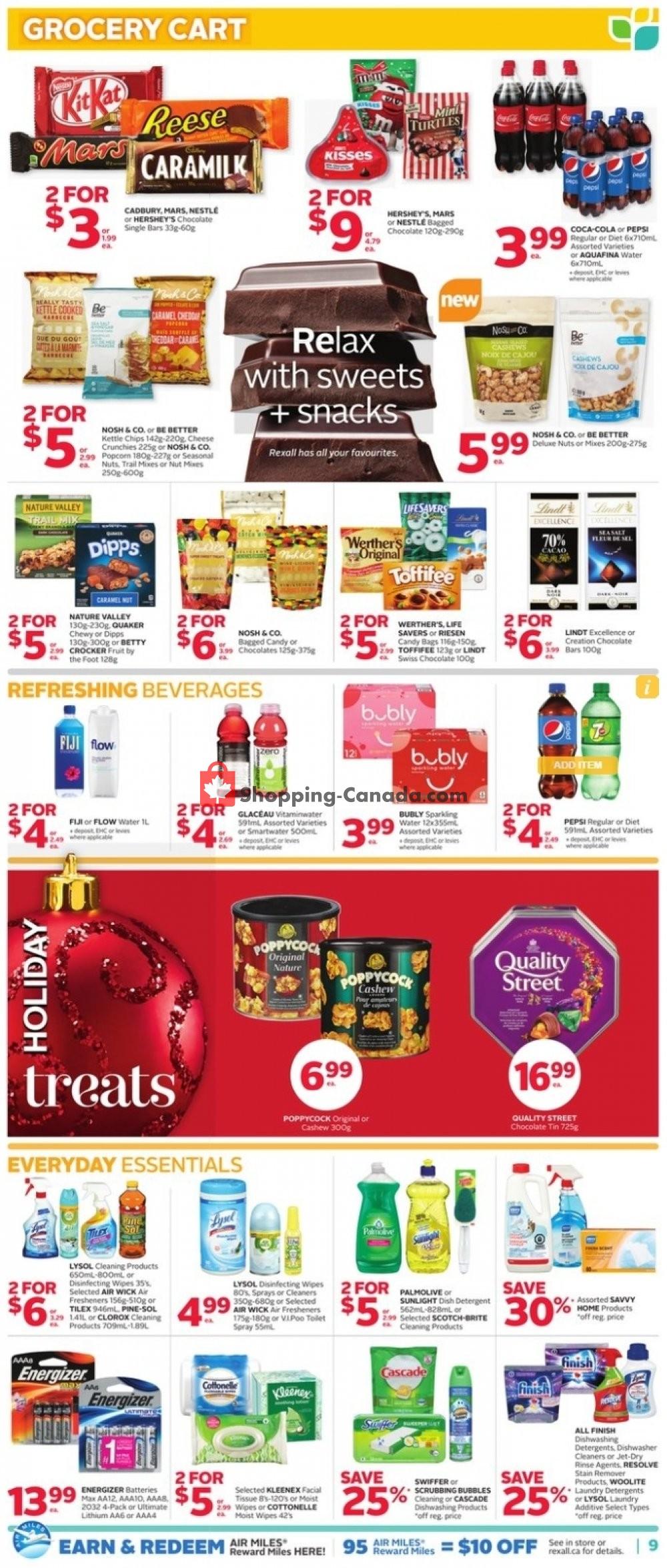 Flyer Rexall Drug Store Canada - from Friday November 8, 2019 to Thursday November 14, 2019
