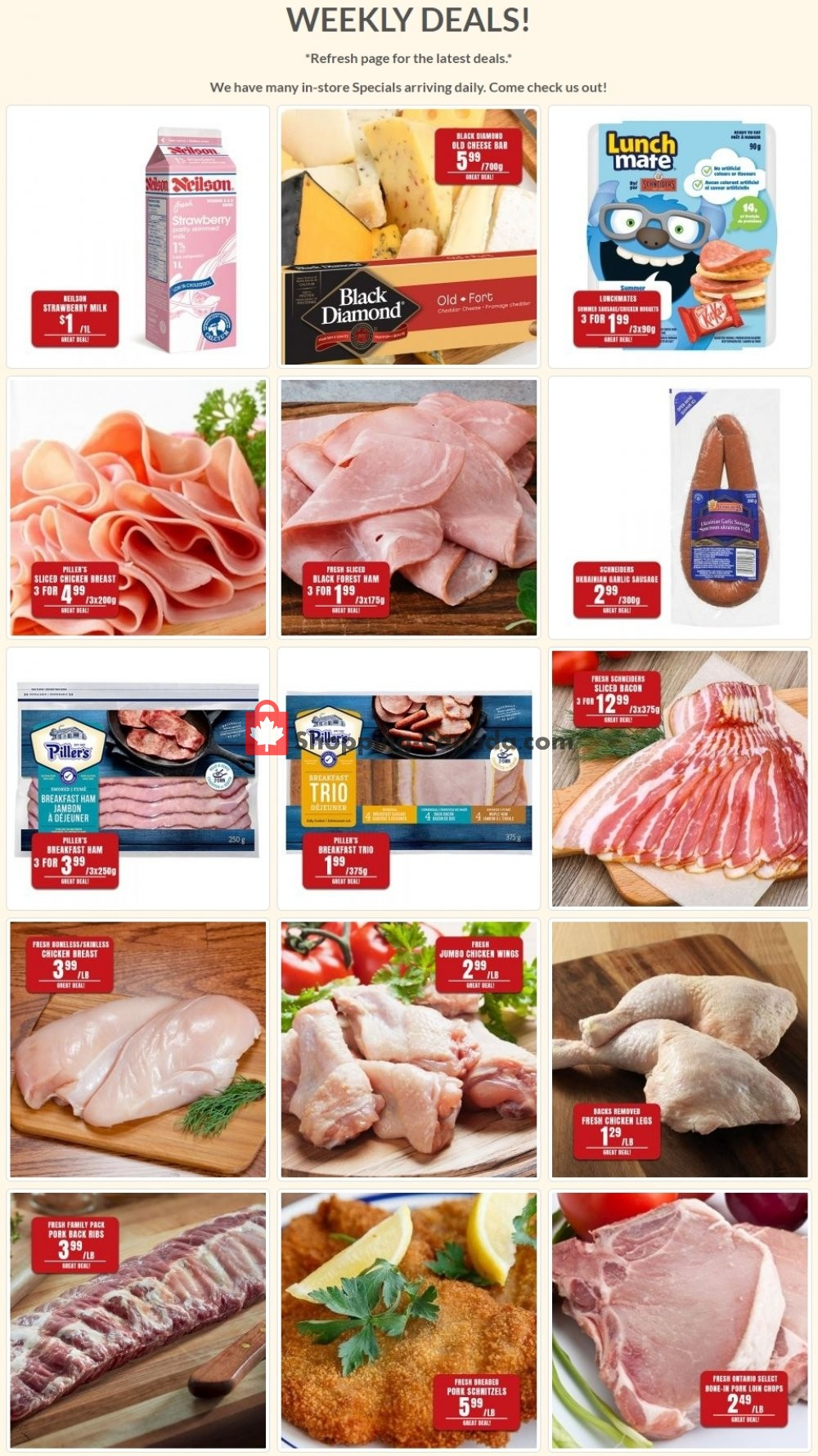 Flyer Robert's Fresh and Boxed Meats Canada - from Tuesday June 2, 2020 to Monday June 8, 2020