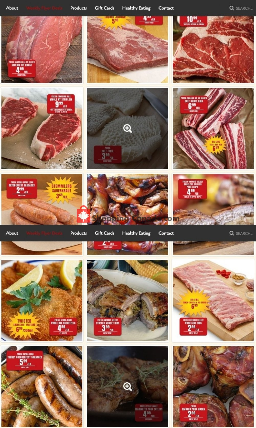 Flyer Robert's Fresh and Boxed Meats Canada - from Monday October 12, 2020 to Sunday October 18, 2020