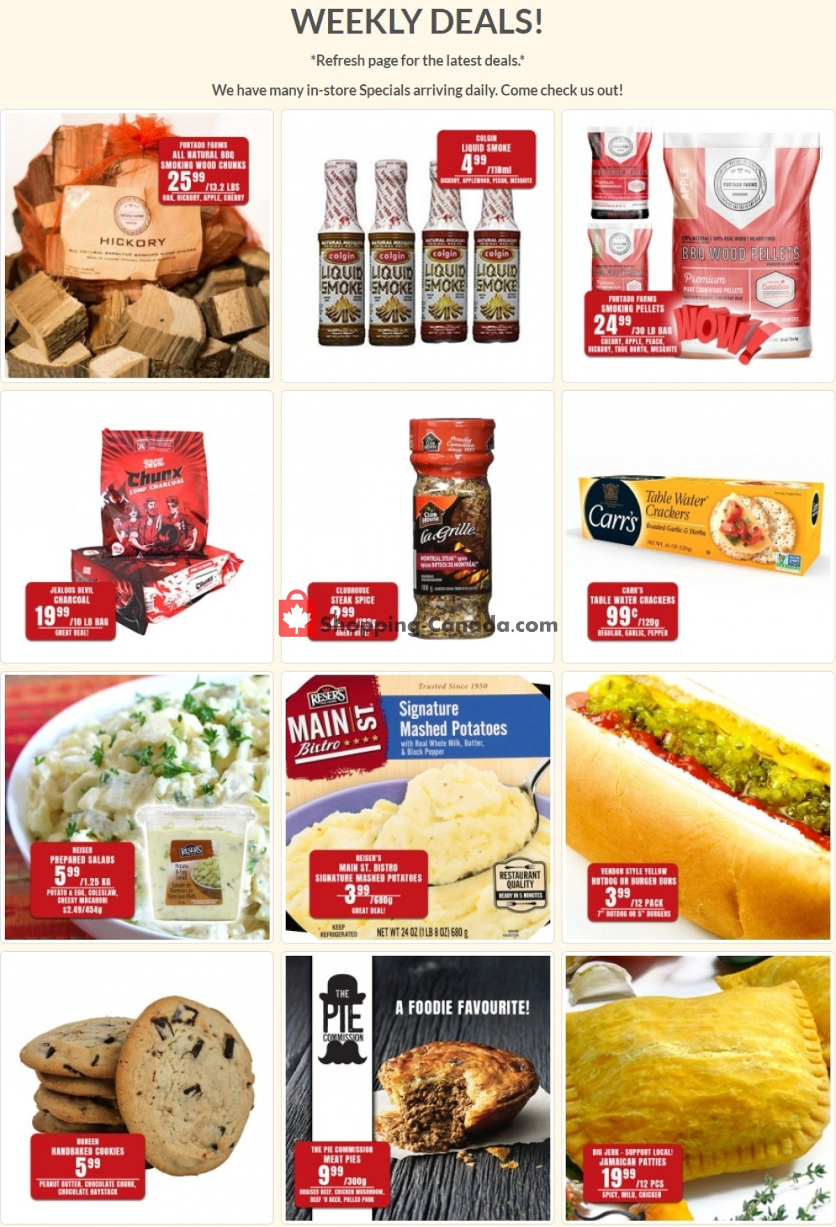 Flyer Robert's Fresh and Boxed Meats Canada - from Tuesday July 20, 2021 to Monday July 26, 2021