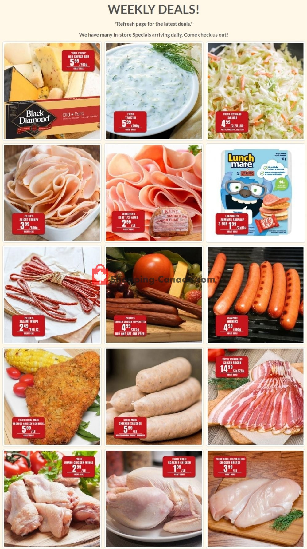 Flyer Robert's Fresh and Boxed Meats Canada - from Wednesday May 27, 2020 to Tuesday June 2, 2020