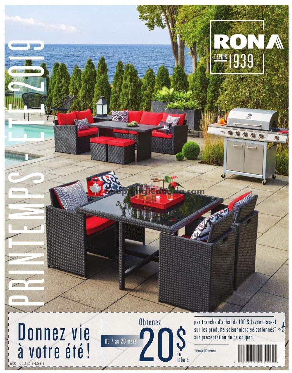 Flyer Rona Canada - from Thursday February 28, 2019 to Wednesday May 29, 2019
