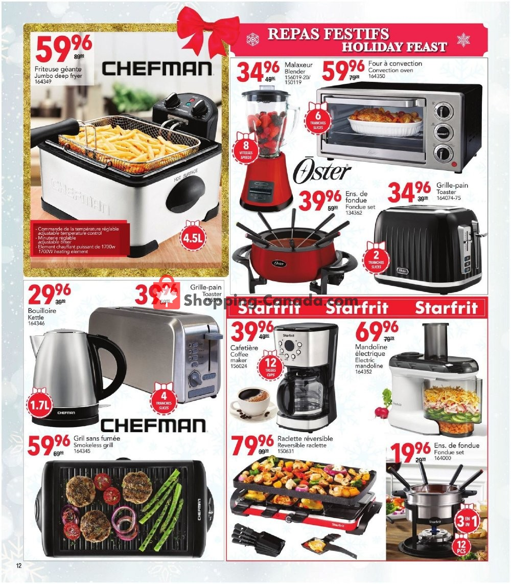 Flyer Rossy Canada - from Thursday November 7, 2019 to Tuesday December 24, 2019