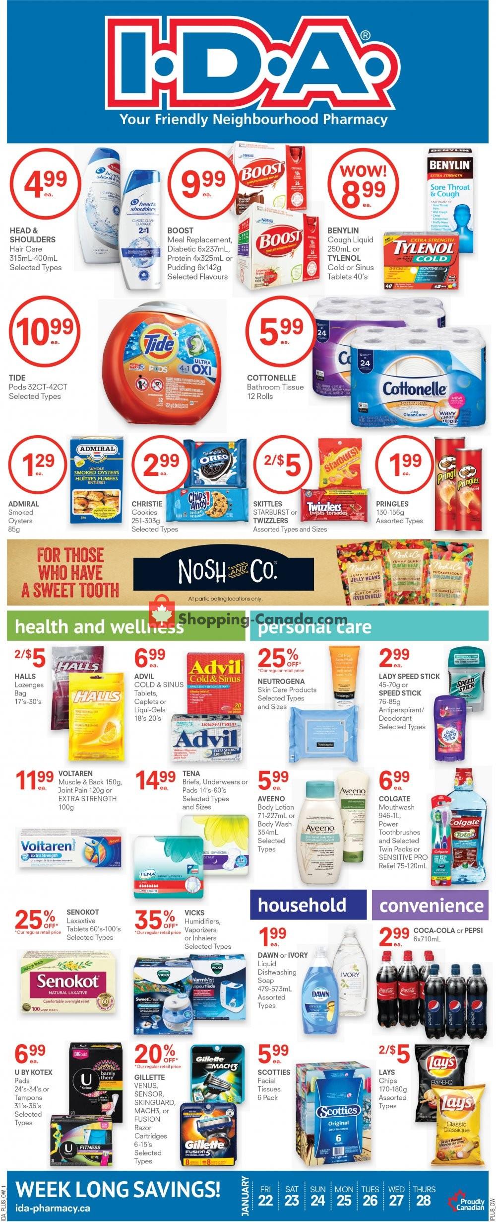 Flyer Roulston's Pharmacy Canada - from Friday January 22, 2021 to Thursday January 28, 2021