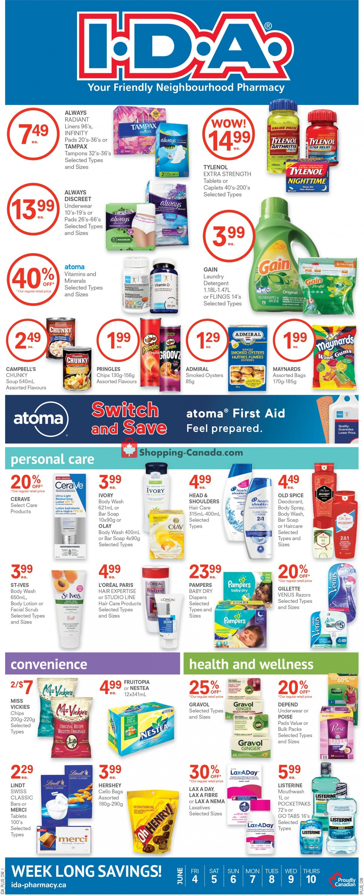 Flyer Roulston's Pharmacy Canada - from Friday June 4, 2021 to Thursday June 10, 2021