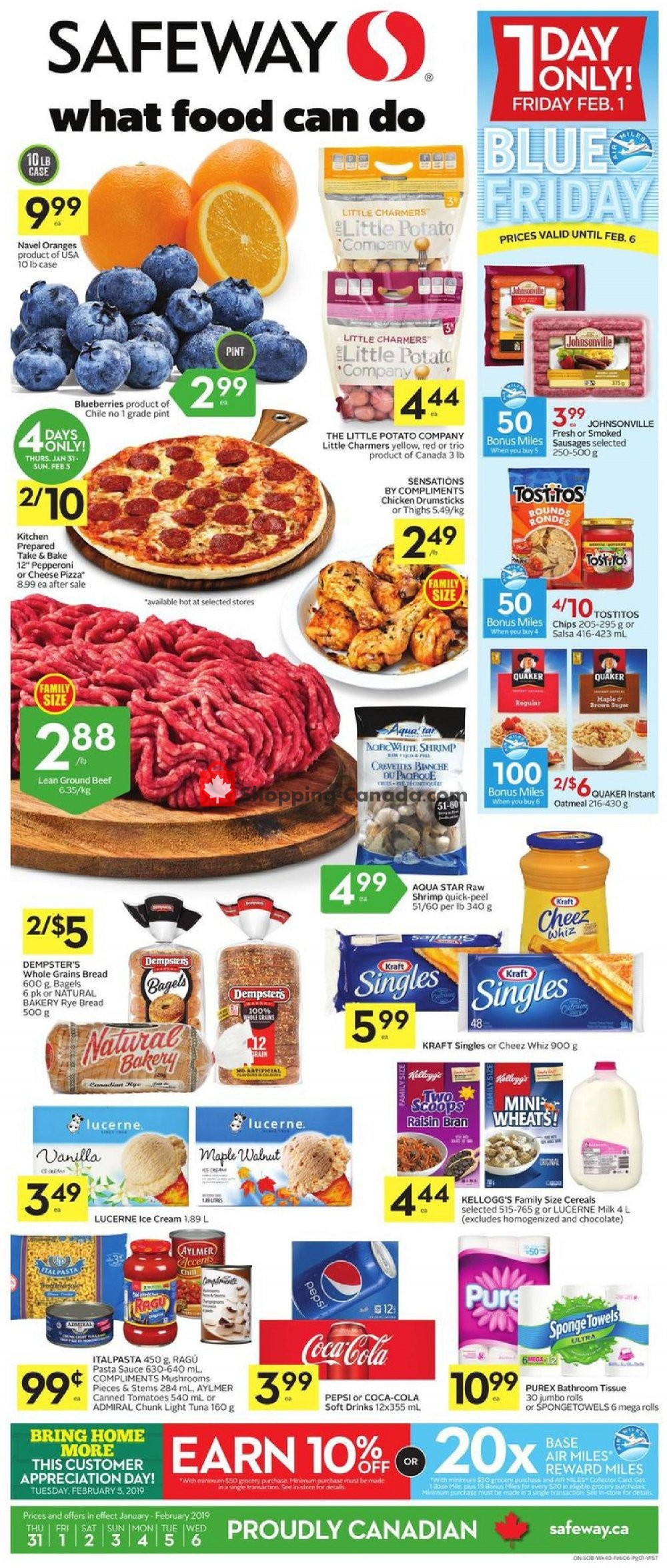 Flyer Safeway Canada - from Thursday January 31, 2019 to Wednesday February 6, 2019