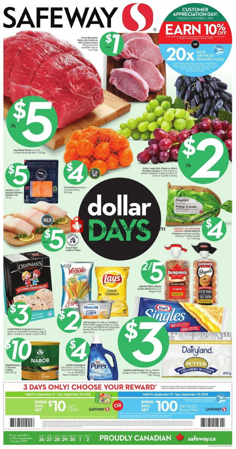 Flyer Safeway Canada - from Thursday September 26, 2019 to Wednesday October 2, 2019
