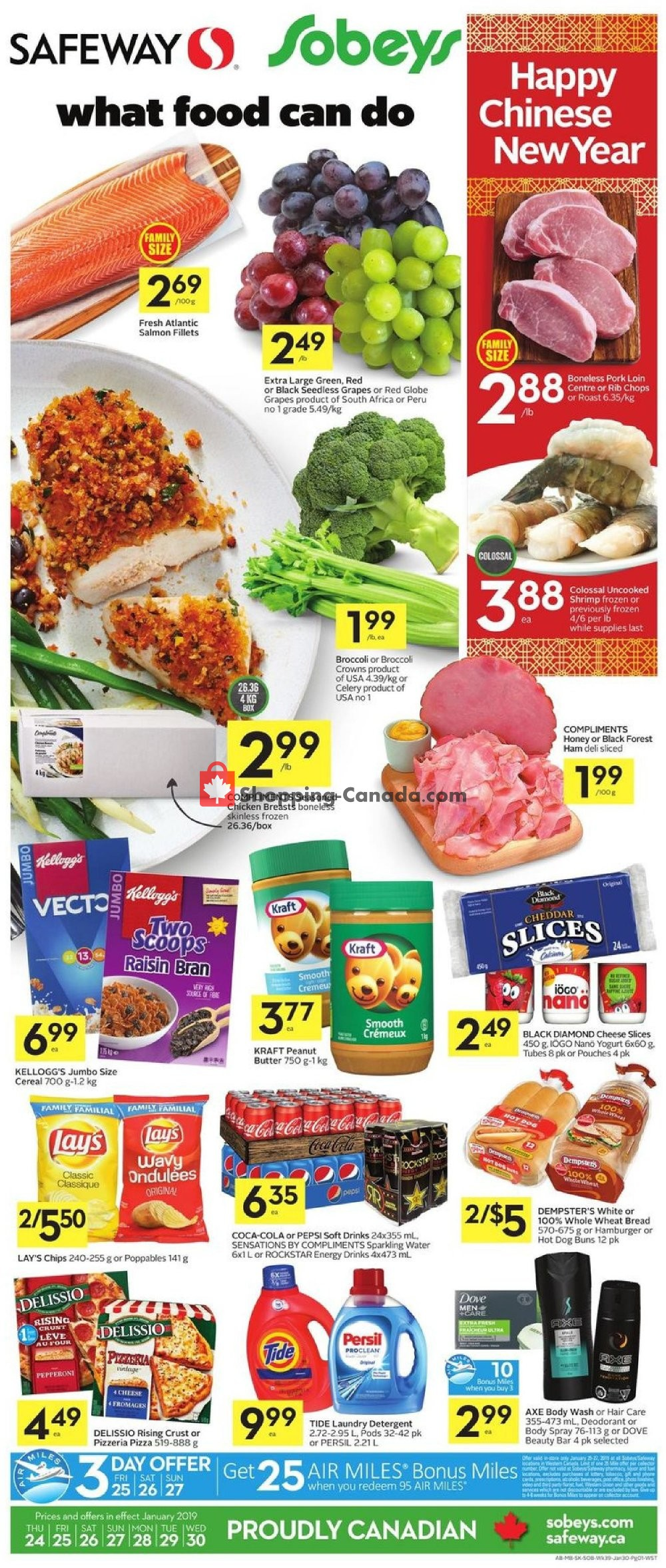 Flyer Safeway Canada - from Thursday January 24, 2019 to Wednesday January 30, 2019