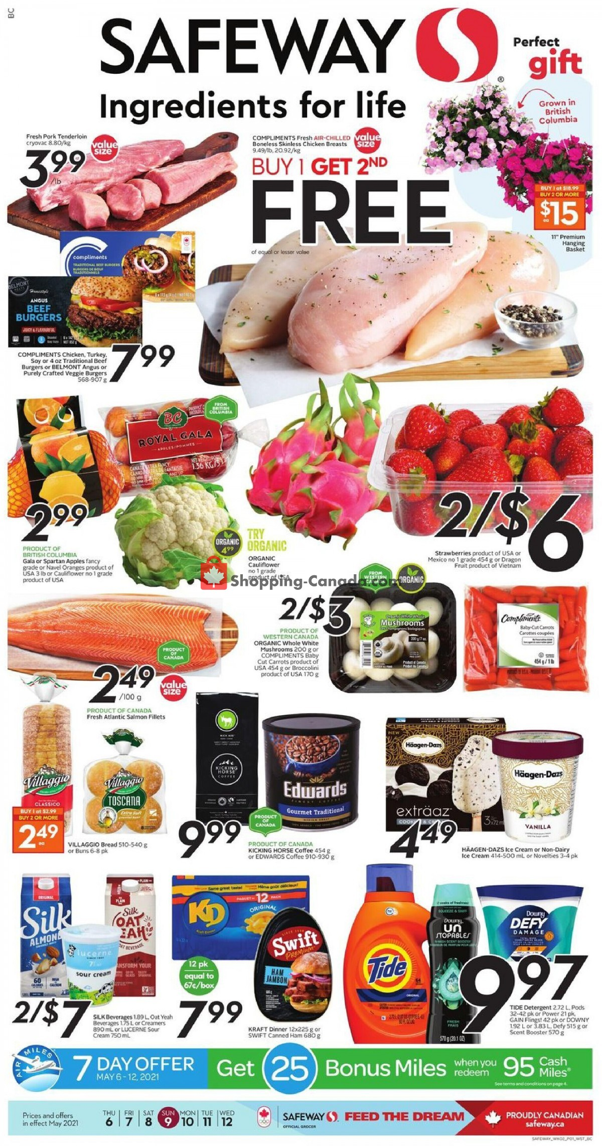 Flyer Safeway Canada - from Thursday May 6, 2021 to Wednesday May 12, 2021