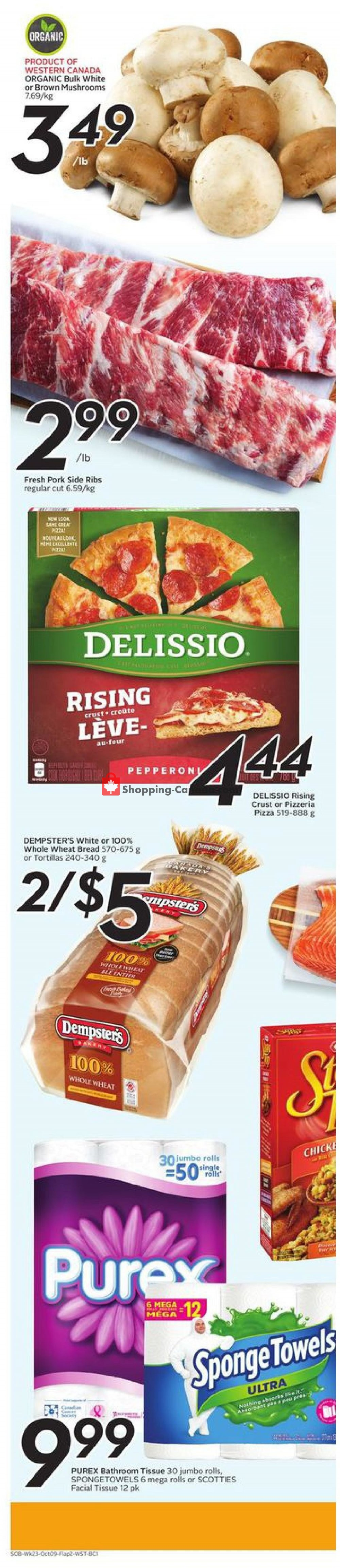 Flyer Safeway Canada - from Thursday October 3, 2019 to Wednesday October 9, 2019