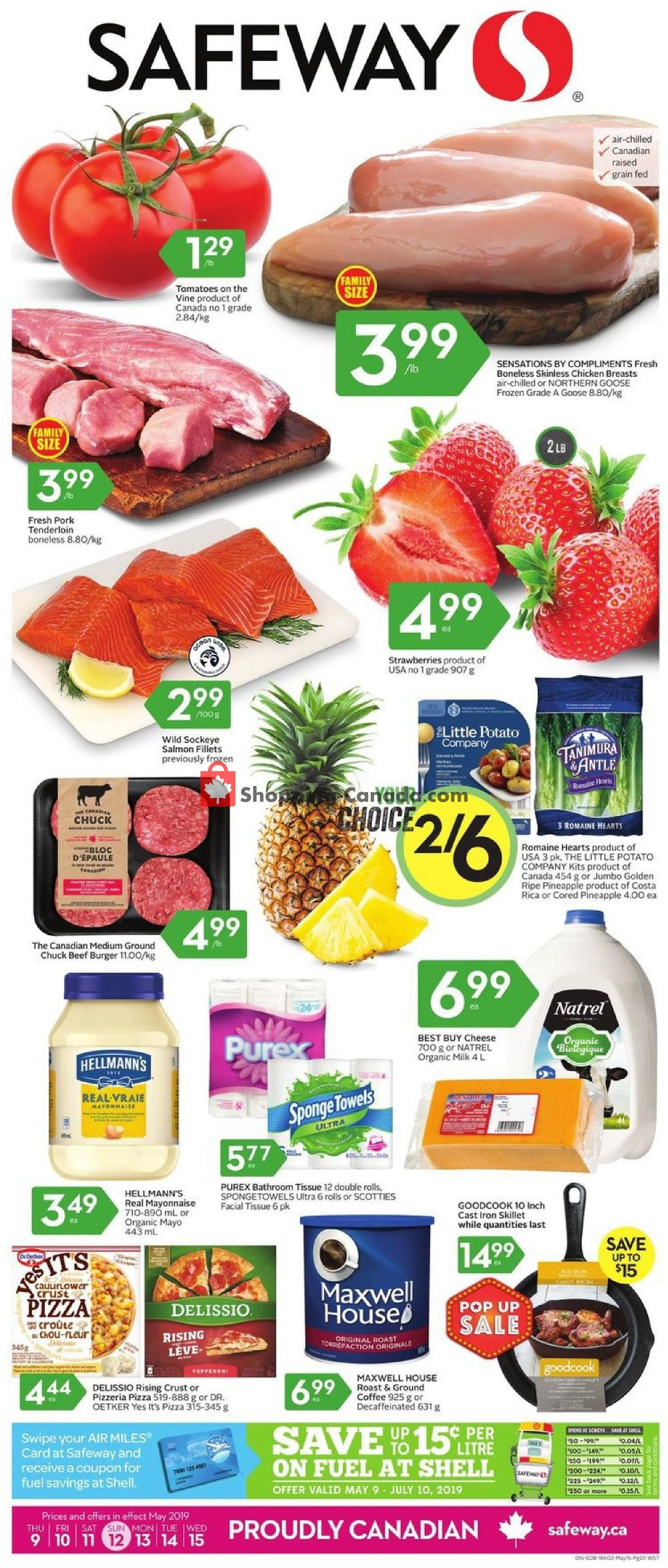 Flyer Safeway Canada - from Thursday May 9, 2019 to Wednesday May 15, 2019