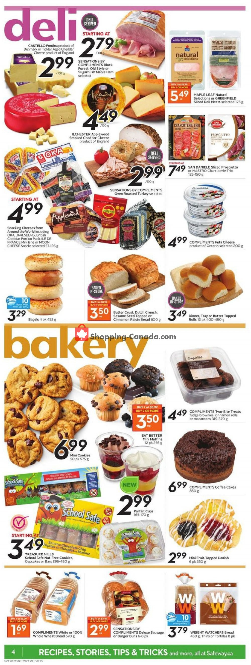 Flyer Safeway Canada - from Thursday September 5, 2019 to Wednesday September 11, 2019