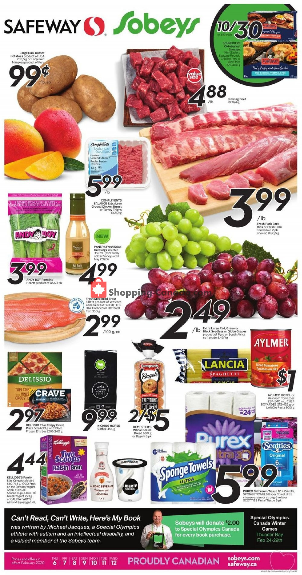 Flyer Safeway Canada - from Thursday February 6, 2020 to Wednesday February 12, 2020