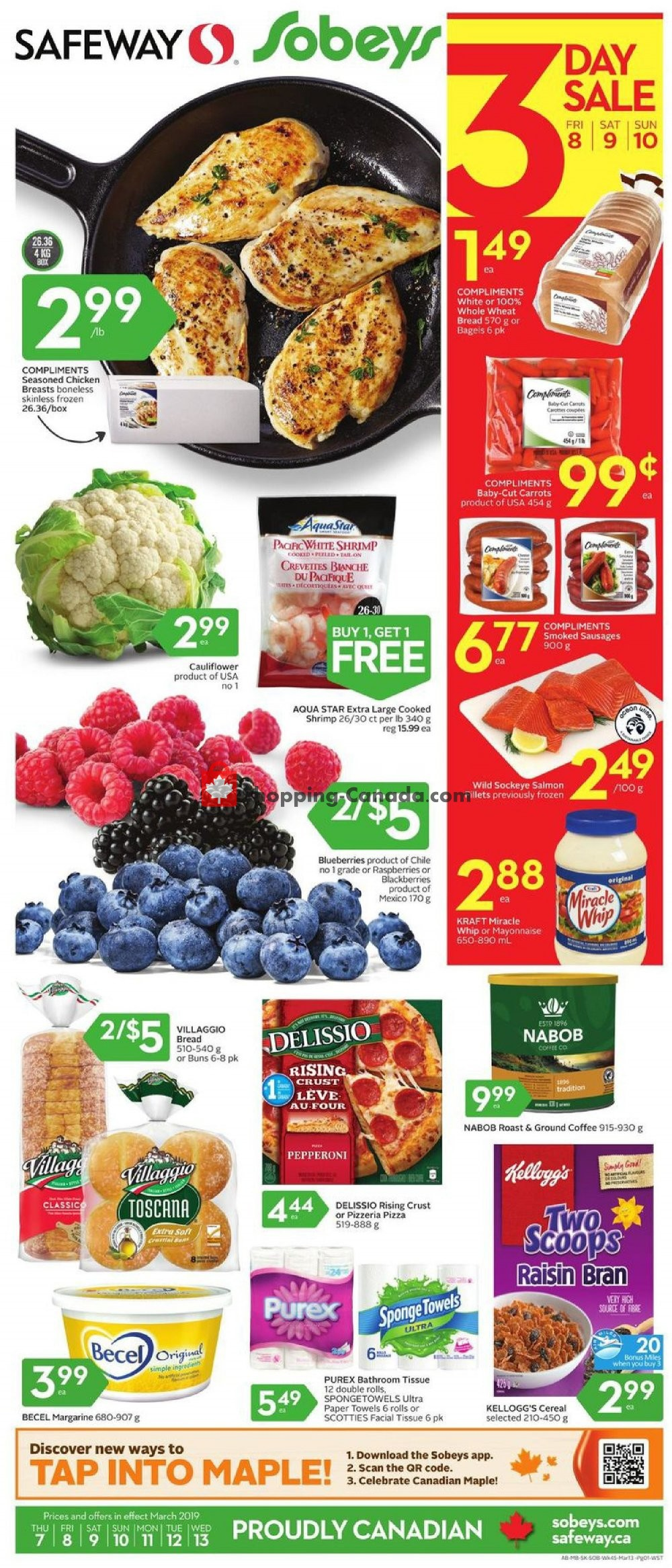 Flyer Safeway Canada - from Thursday March 7, 2019 to Wednesday March 13, 2019