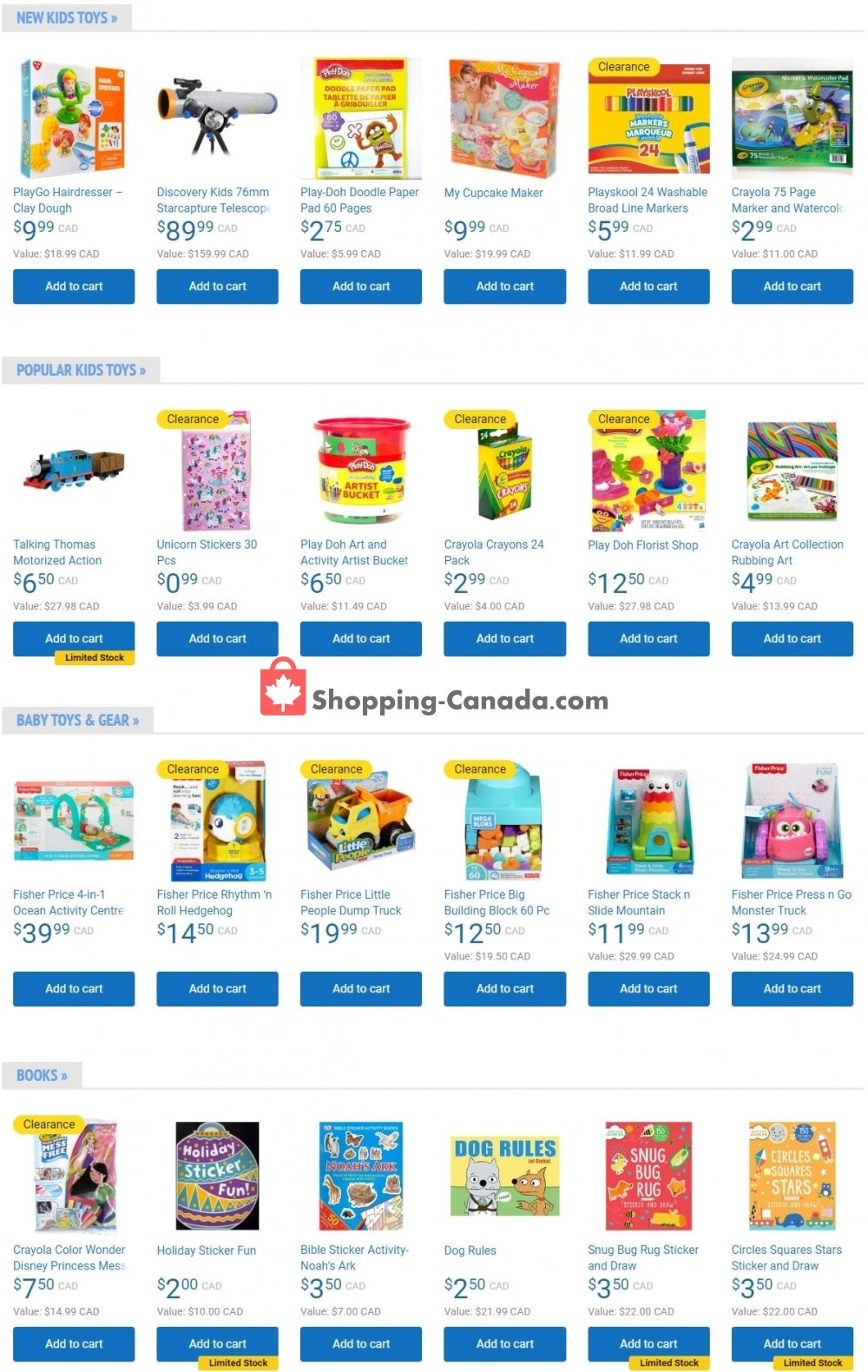 Flyer Samko and Miko Toy Warehouse Canada - from Wednesday April 22, 2020 to Tuesday April 28, 2020