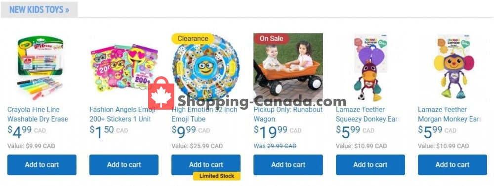 Flyer Samko and Miko Toy Warehouse Canada - from Saturday May 30, 2020 to Friday June 5, 2020
