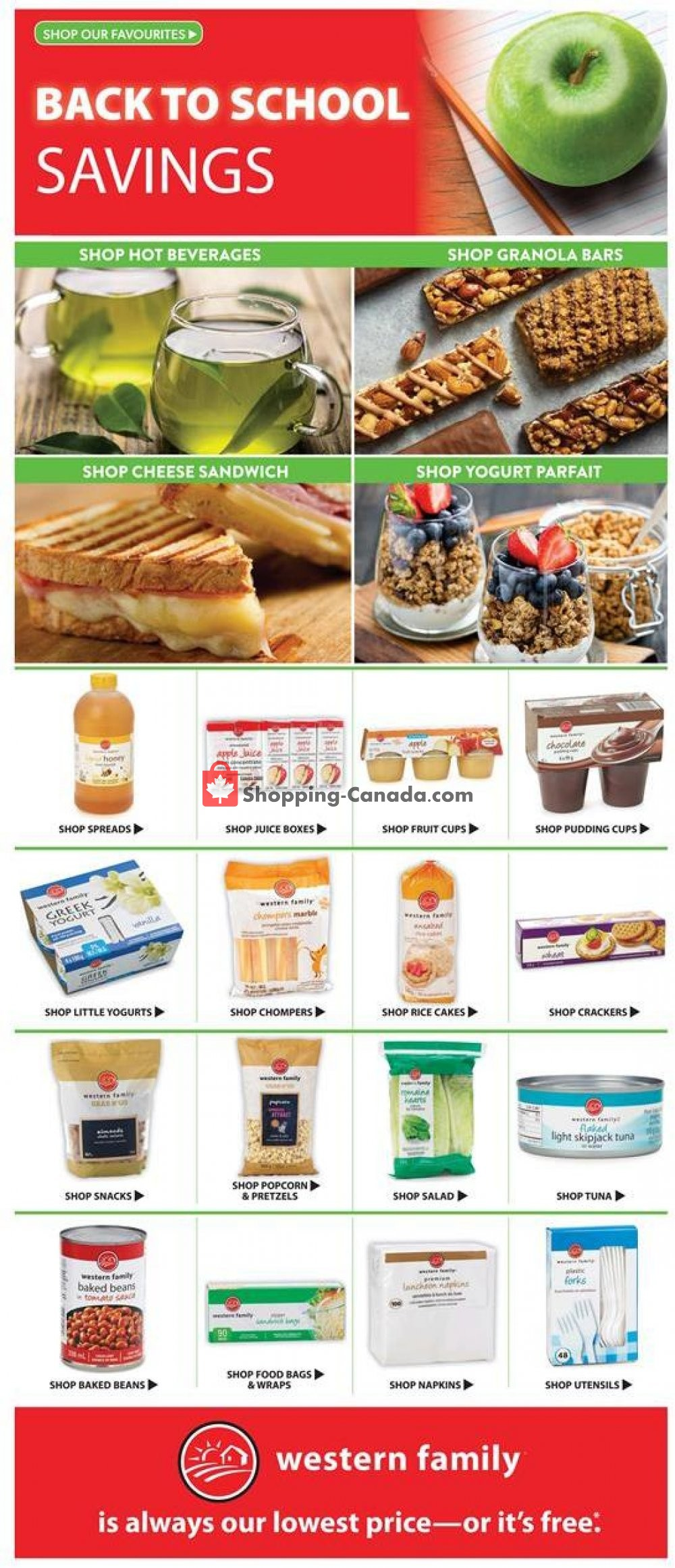Flyer Save-On-Foods Canada - from Thursday September 5, 2019 to Wednesday September 11, 2019
