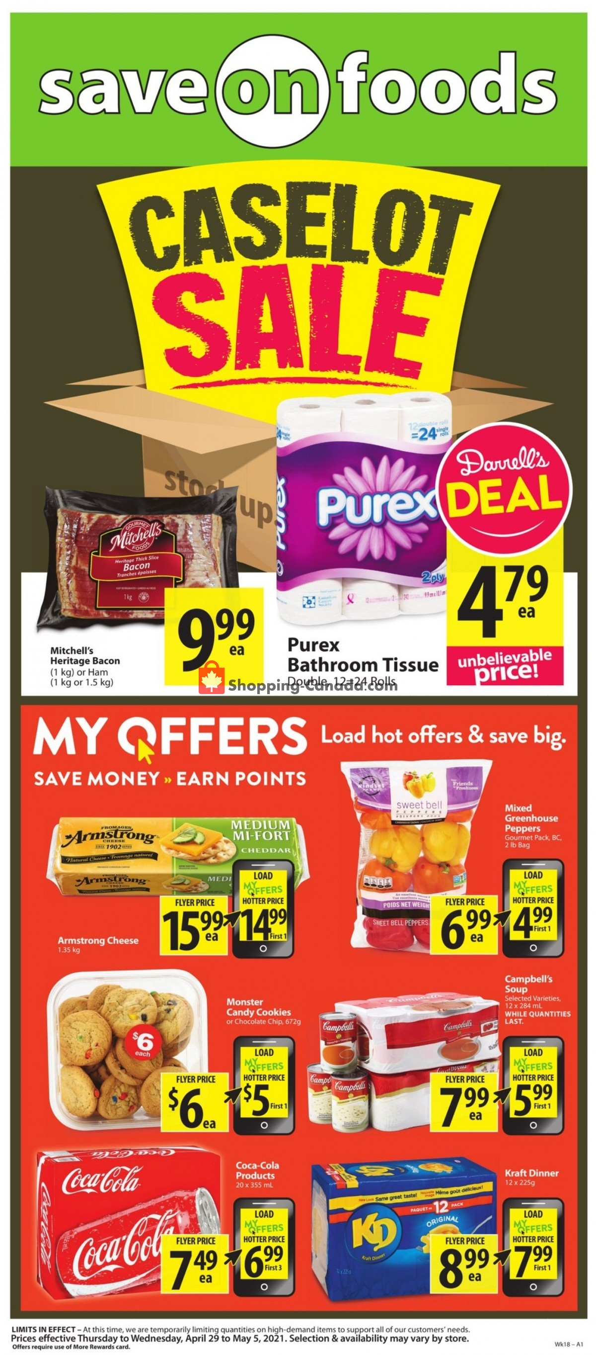 Flyer Save On Foods Canada - from Thursday April 29, 2021 to Wednesday May 5, 2021