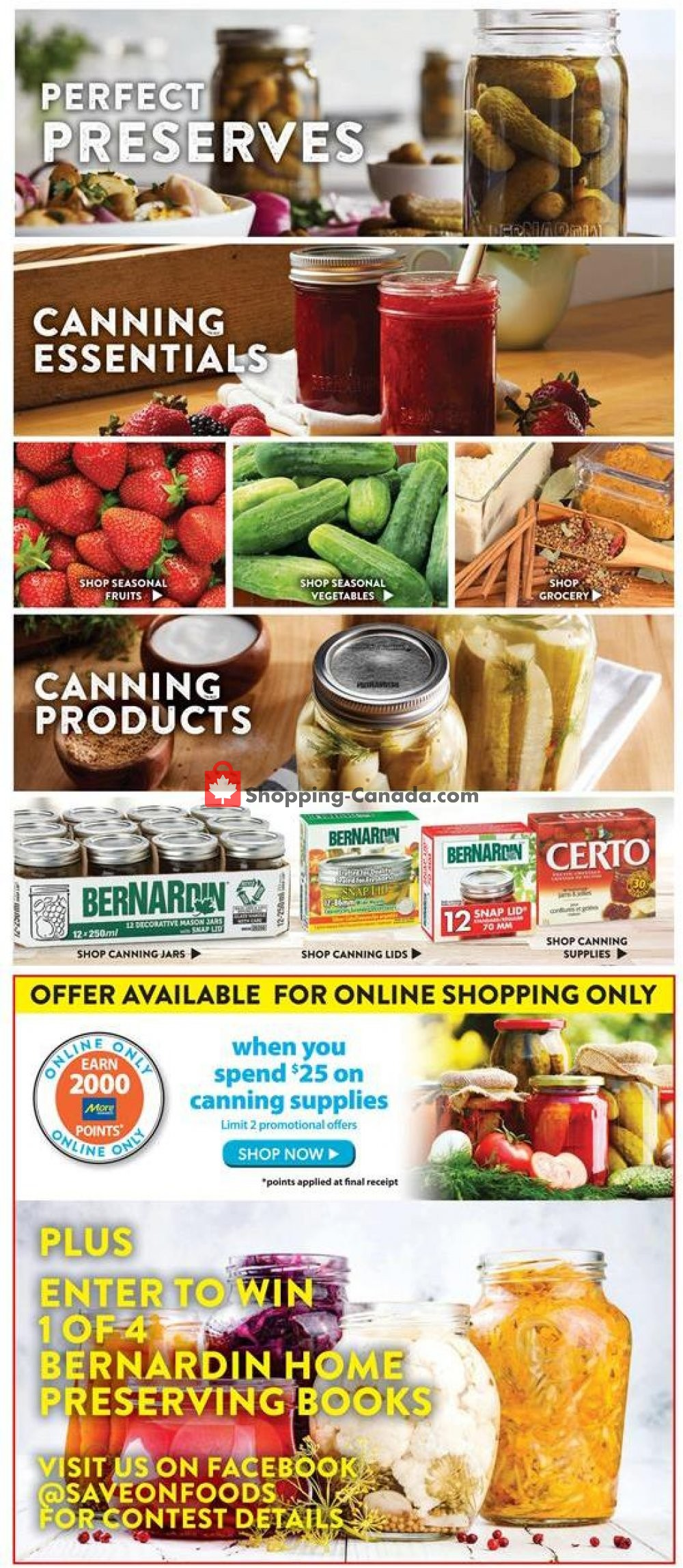 Flyer Save-On-Foods Canada - from Thursday July 11, 2019 to Wednesday July 17, 2019