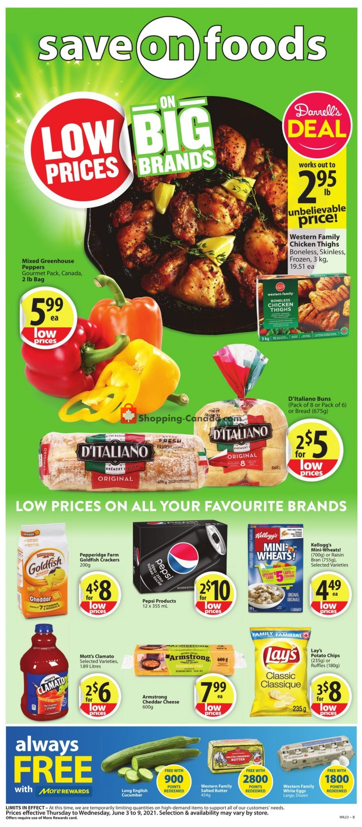 Flyer Save On Foods Canada - from Thursday June 3, 2021 to Wednesday June 9, 2021