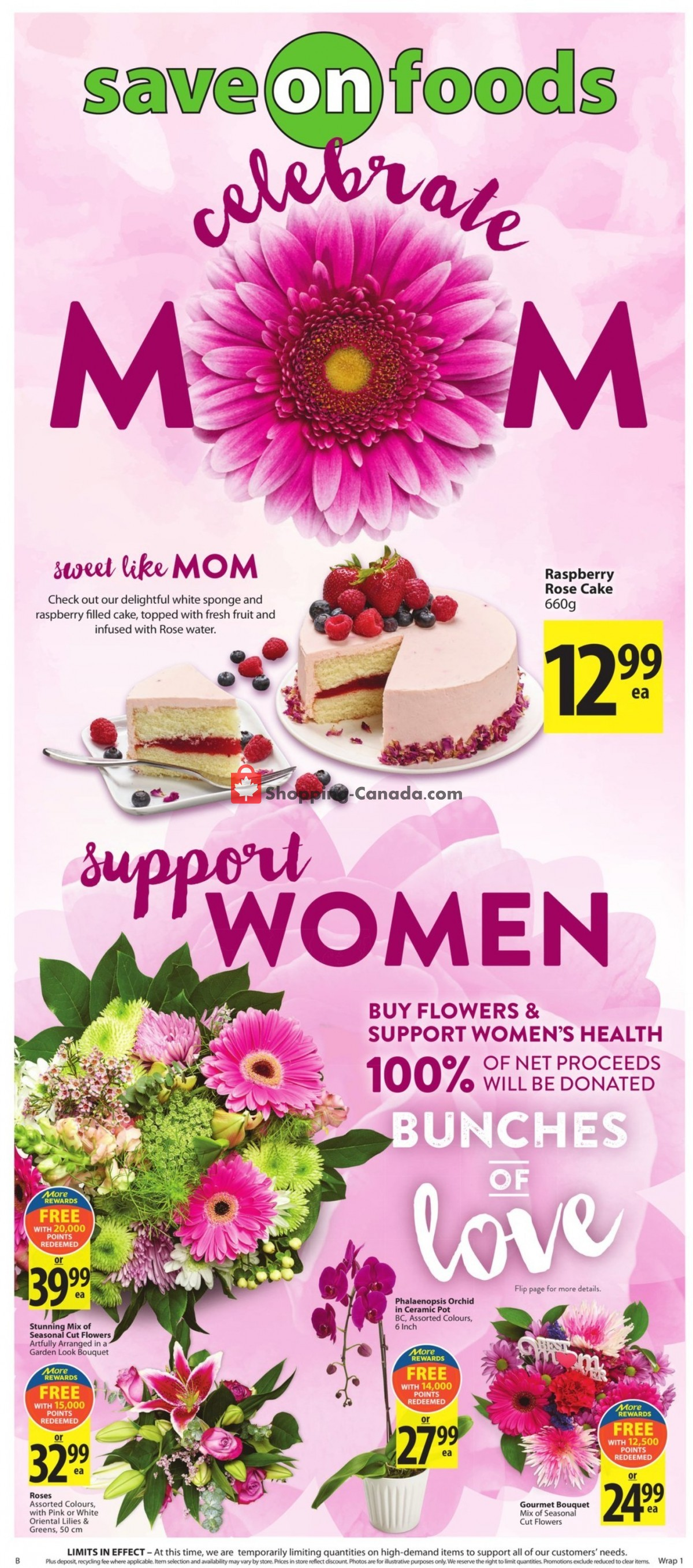 Flyer Save On Foods Canada - from Thursday May 6, 2021 to Wednesday May 12, 2021