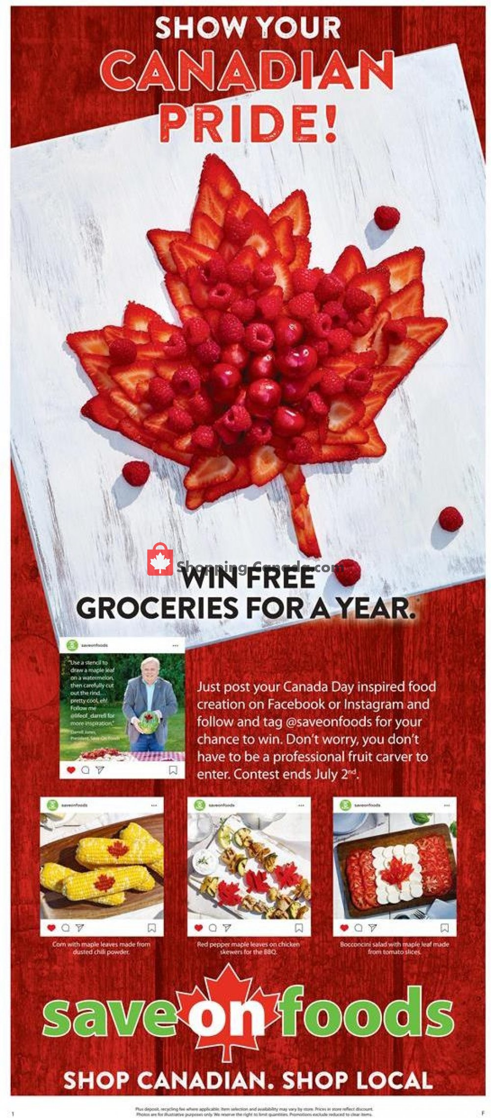 Flyer Save On Foods Canada - from Thursday June 27, 2019 to Wednesday July 3, 2019