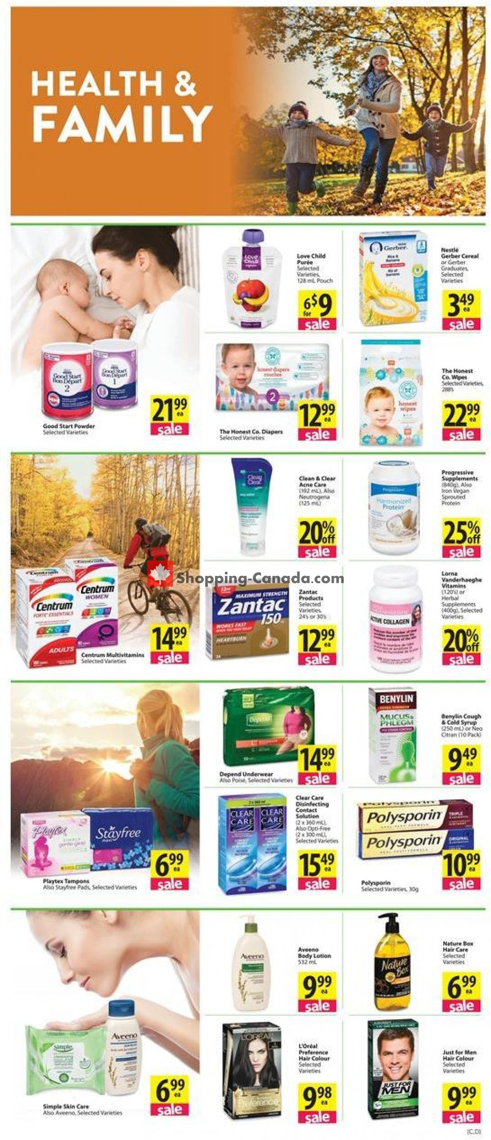 Flyer Save-On-Foods Canada - from Thursday October 10, 2019 to Wednesday October 16, 2019